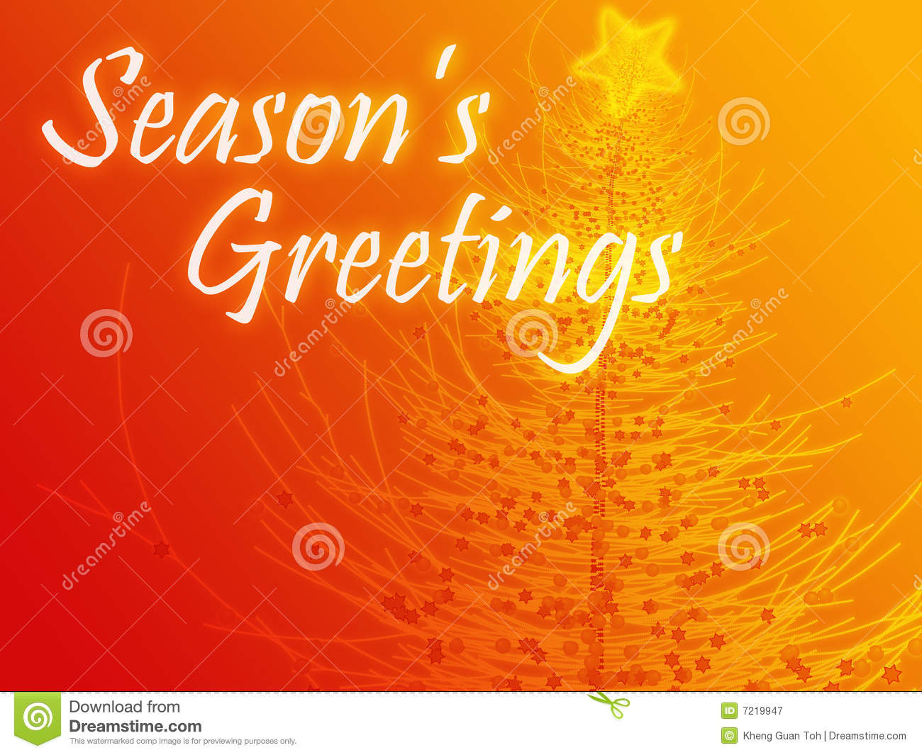 Seasons greetings stock illustration illustration of decorated seasons greetings m4hsunfo