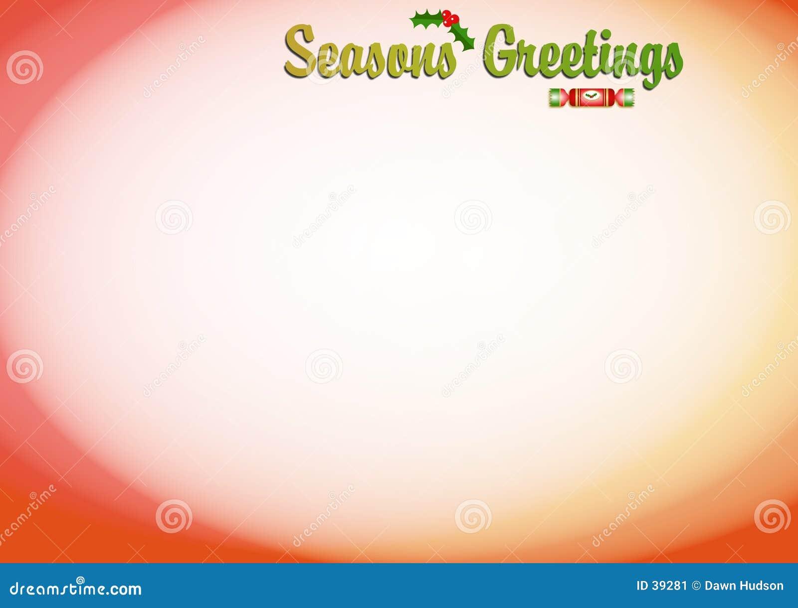 Seasons Greetings Background