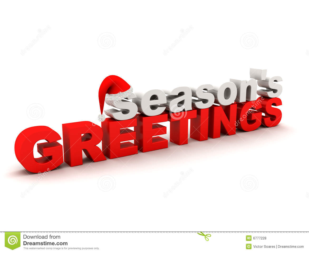 Seasons greetings text stock illustration illustration of holidays seasons greetings text m4hsunfo