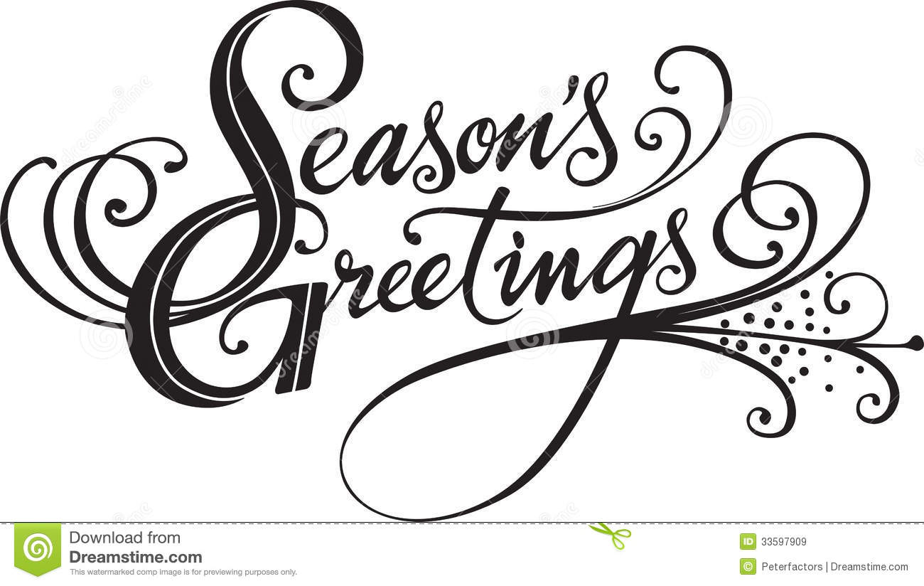 Seasons greetings stock vector illustration of holiday 33597909 seasons greetings m4hsunfo