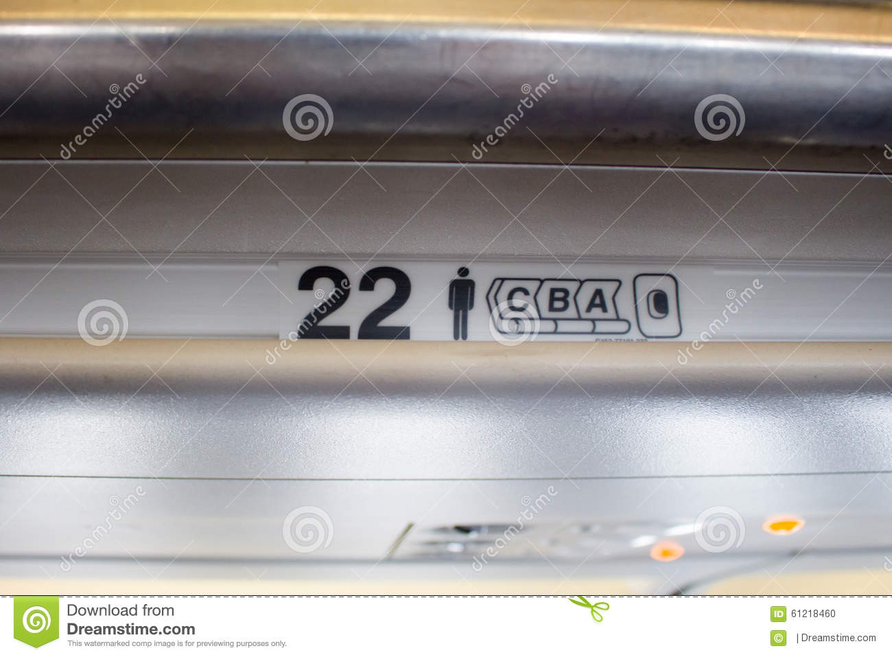 Seat Number On The Plane Tell Where Passenger Reserved ...