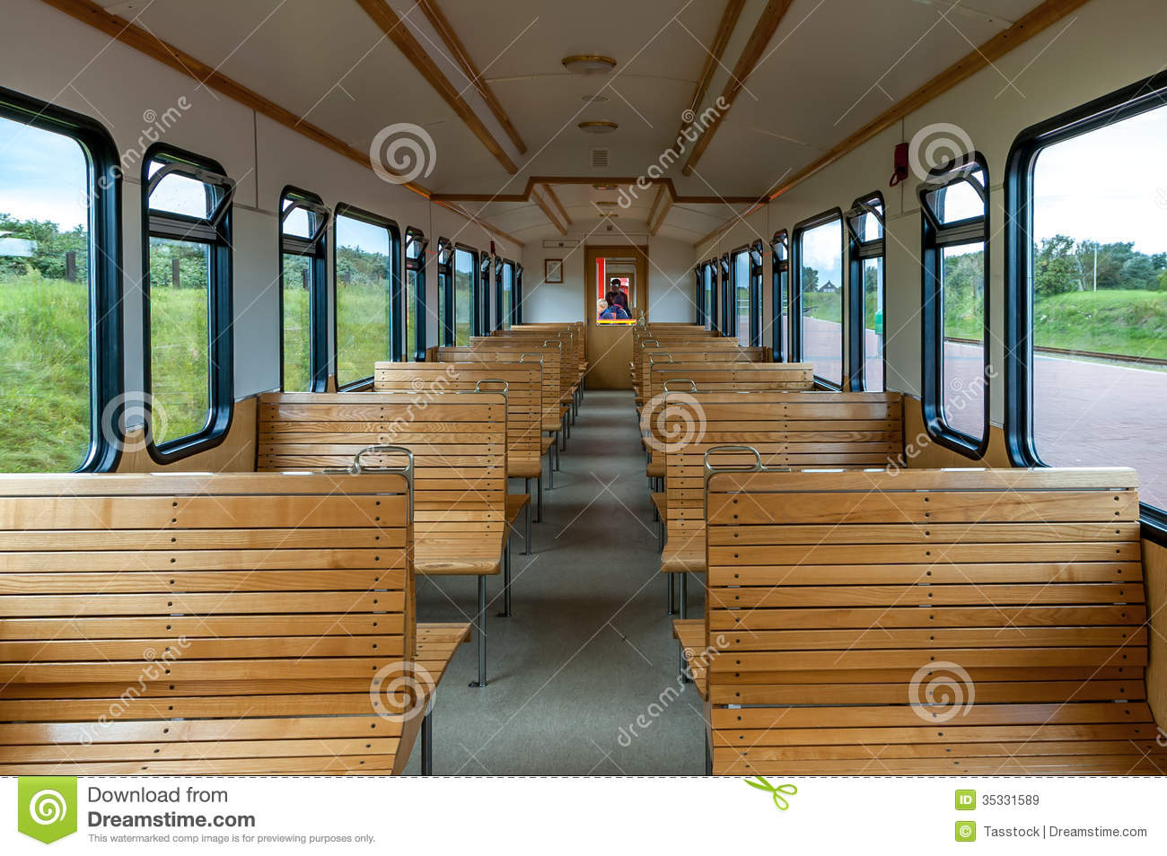 seat rows in old passenger car editorial stock image image 35331589. Black Bedroom Furniture Sets. Home Design Ideas