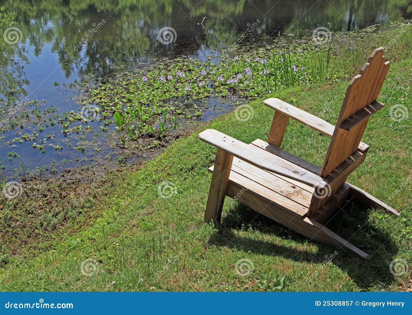 Seating пруда