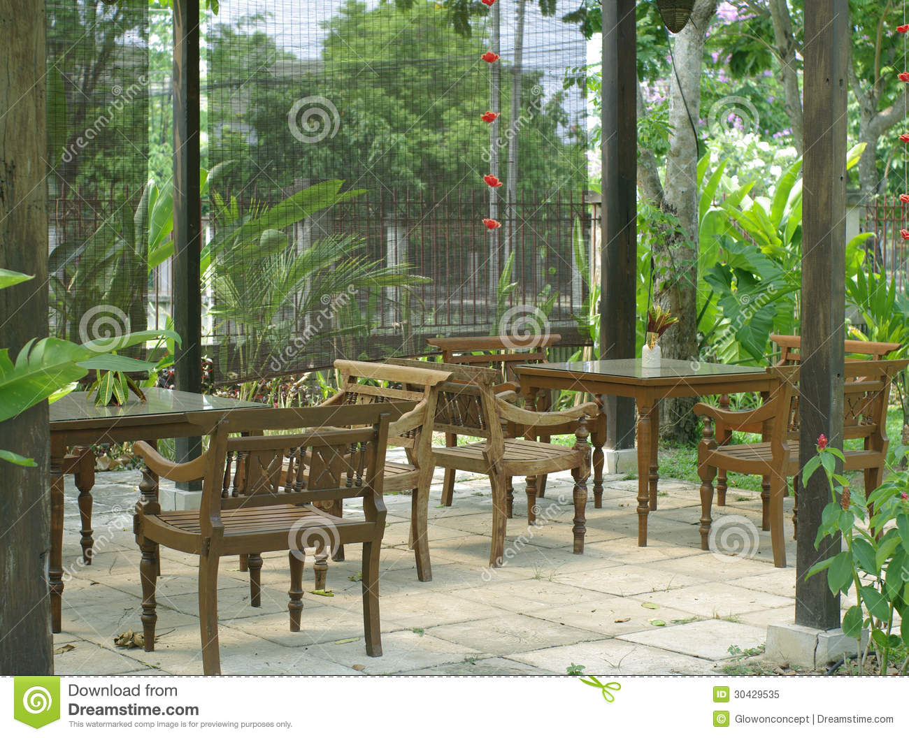 Seating terrace in the nature royalty free stock photo for Terrace nature