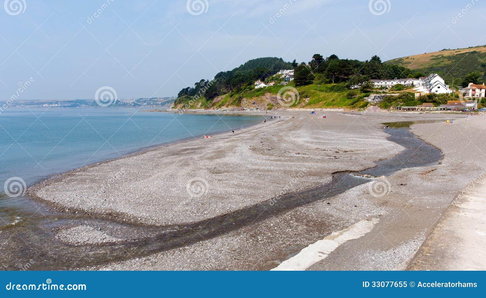 Download Seaton Beach Cornwall Near Looe England, United Kingdom Stock Image - Image of scenic, cornish: 33077655