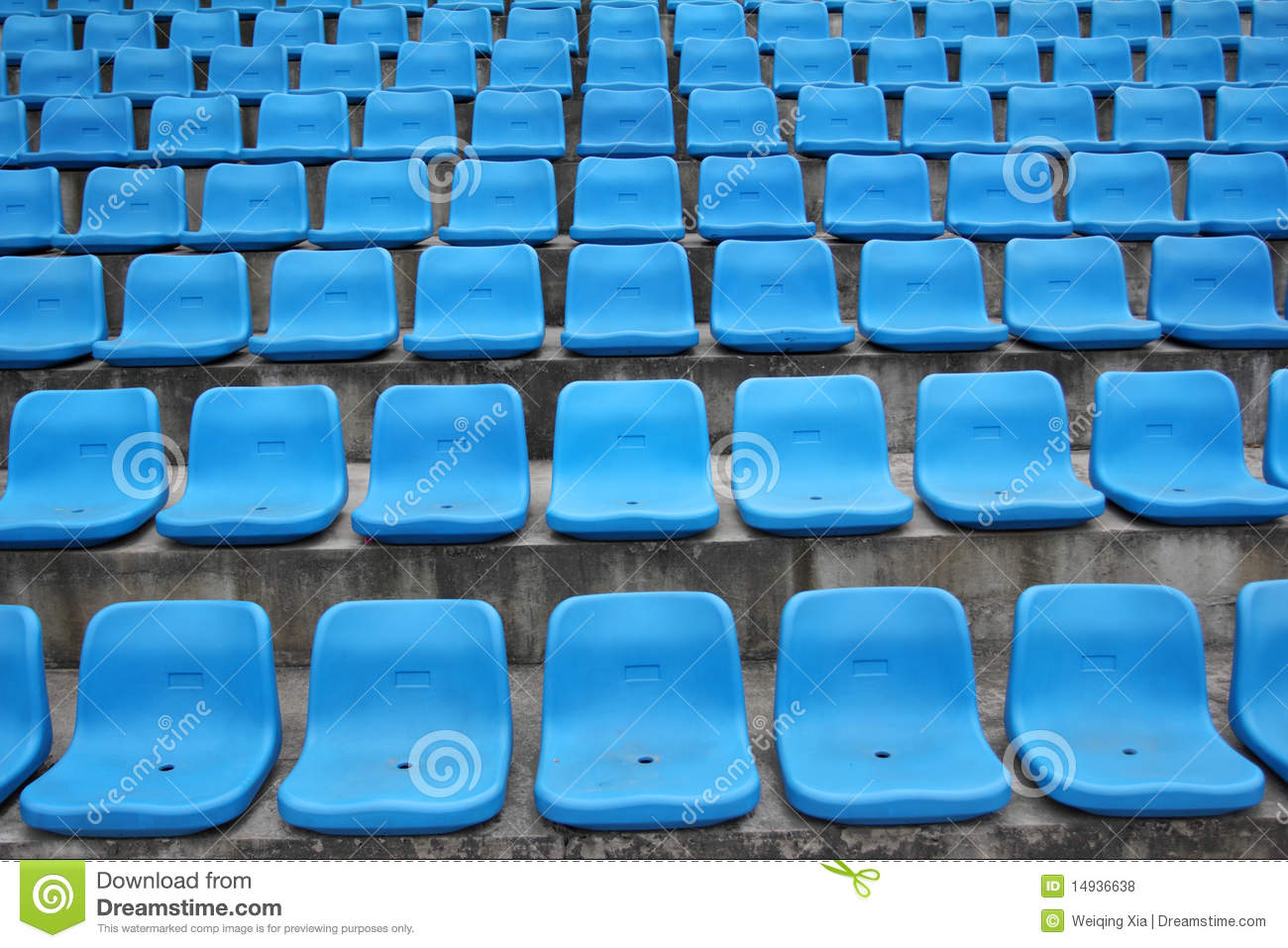 seats in stadium stock photo  image of aisle  empty  spectator
