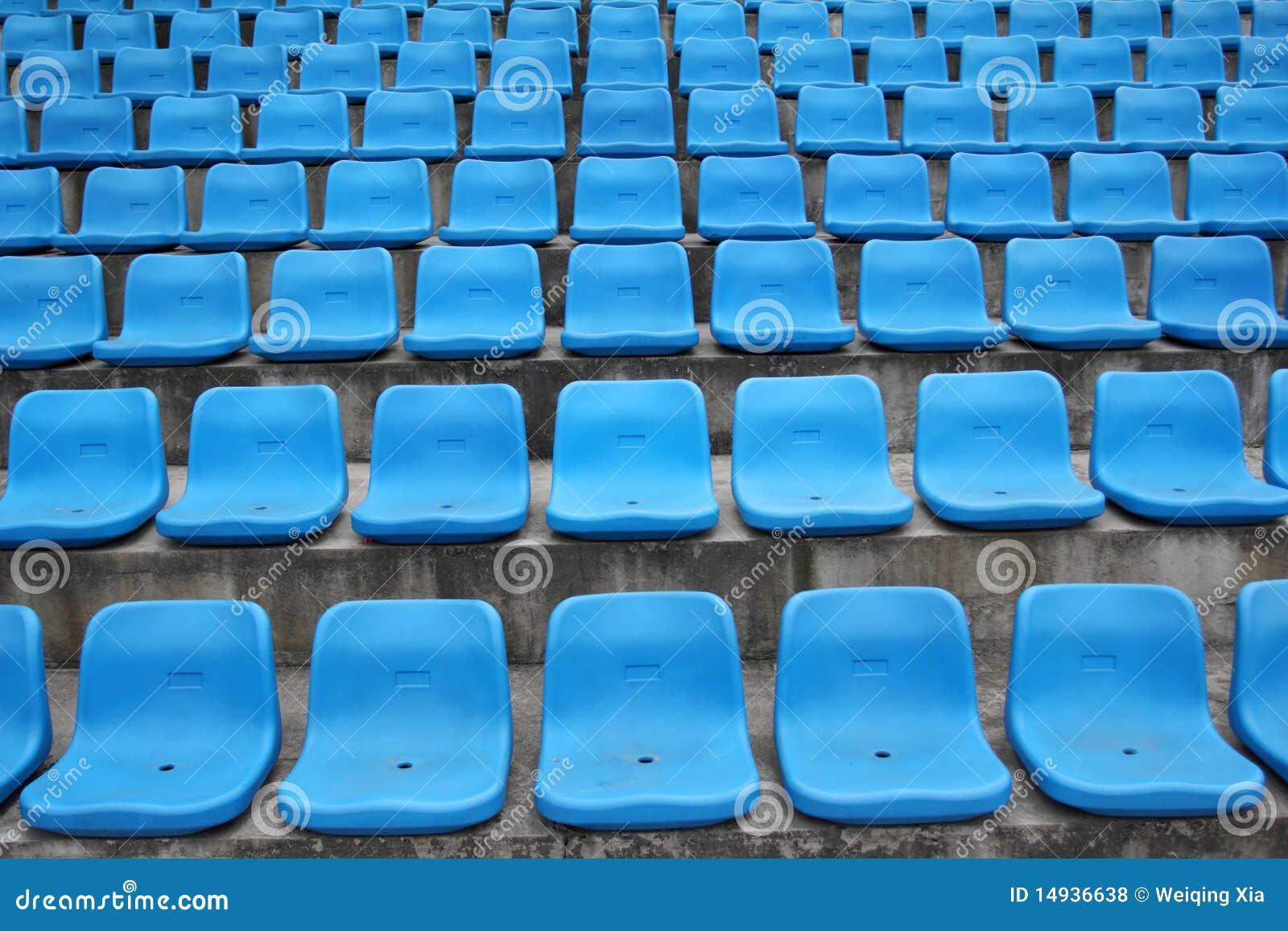 Seats In Stadium Royalty Free Stock Photos - Image: 14936638