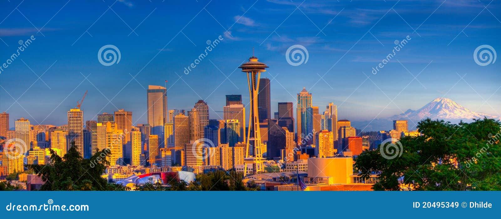 Seattle City panorama