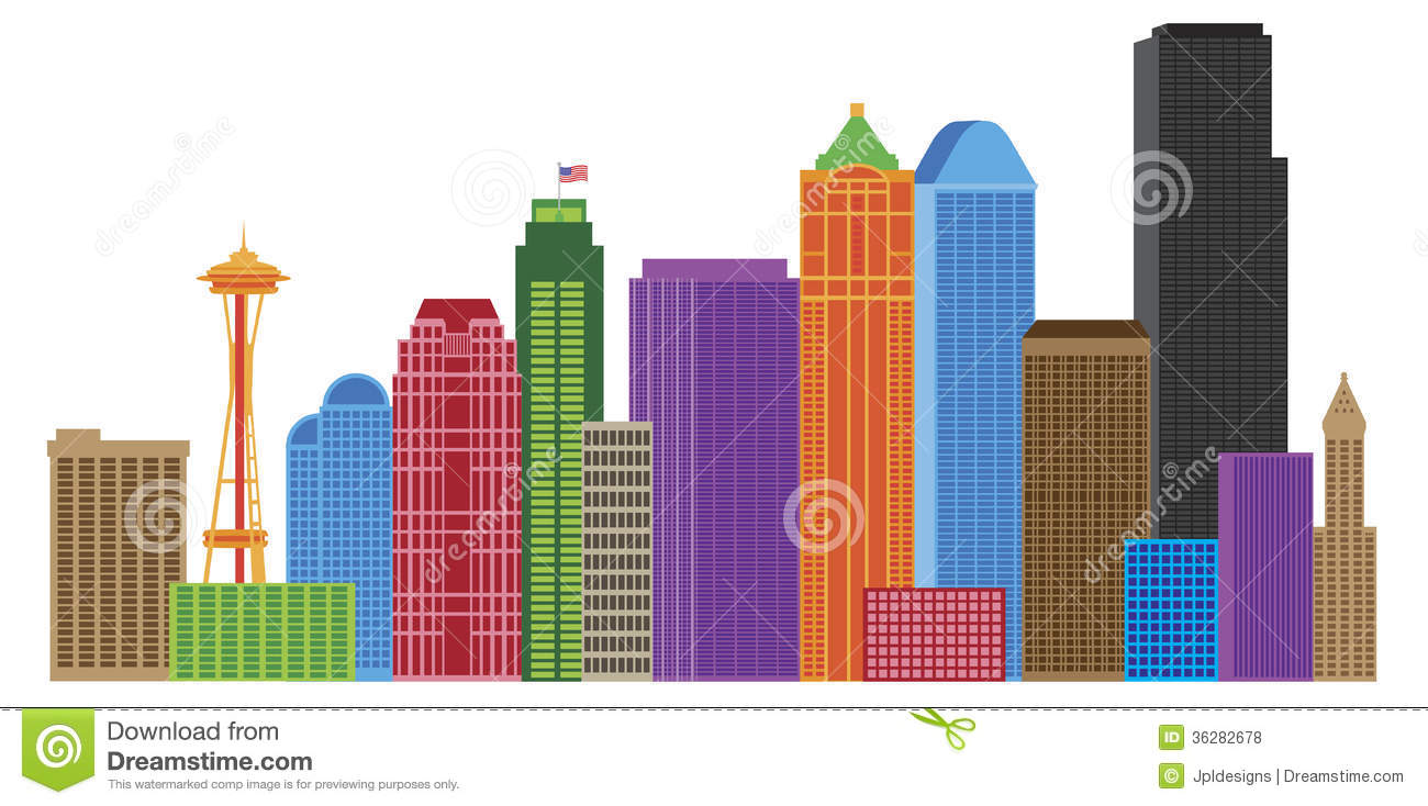 Displaying 18> Images For - City Skyline Clip Art Color...