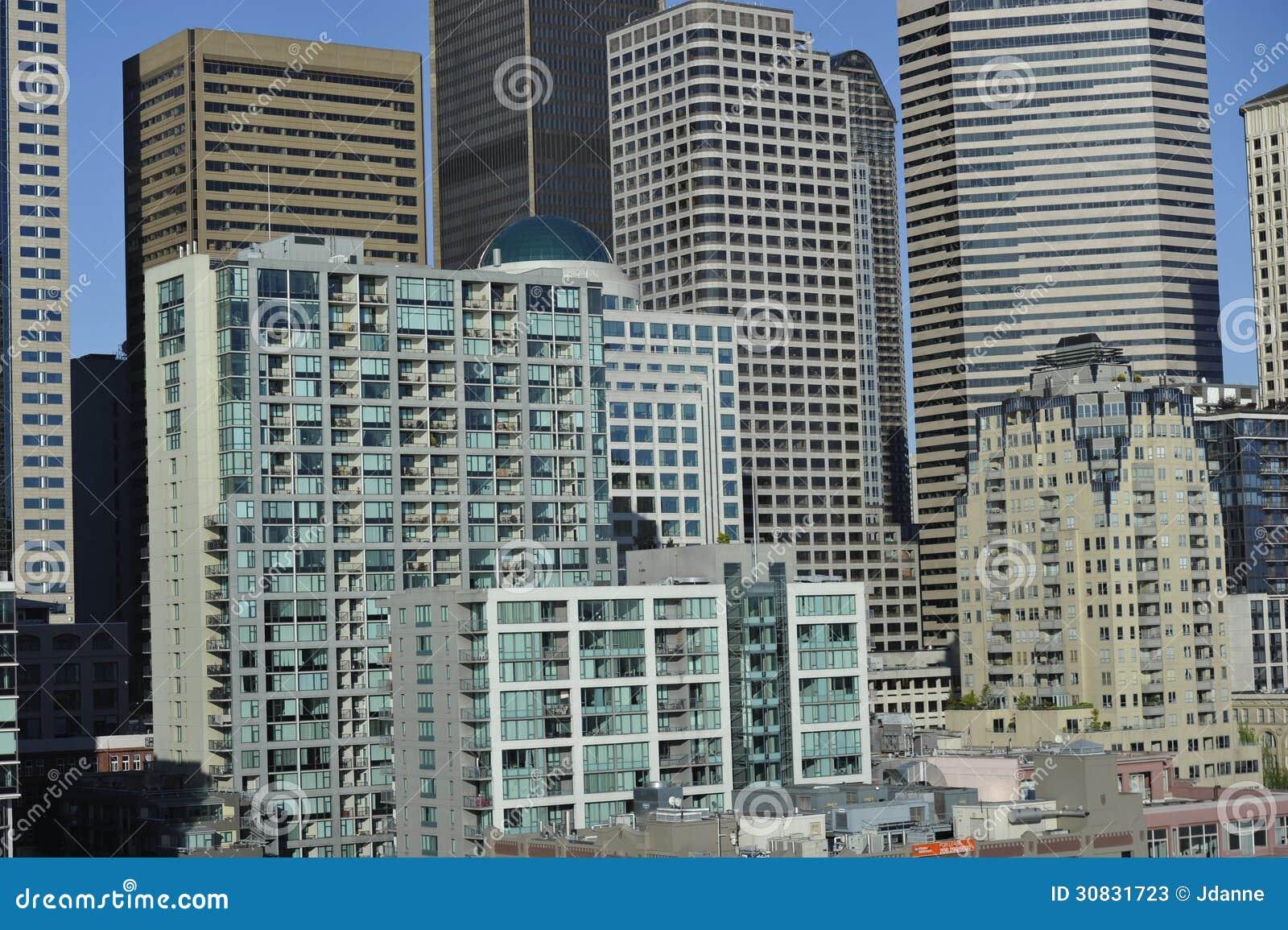 Seattle del centro, U.S.A.