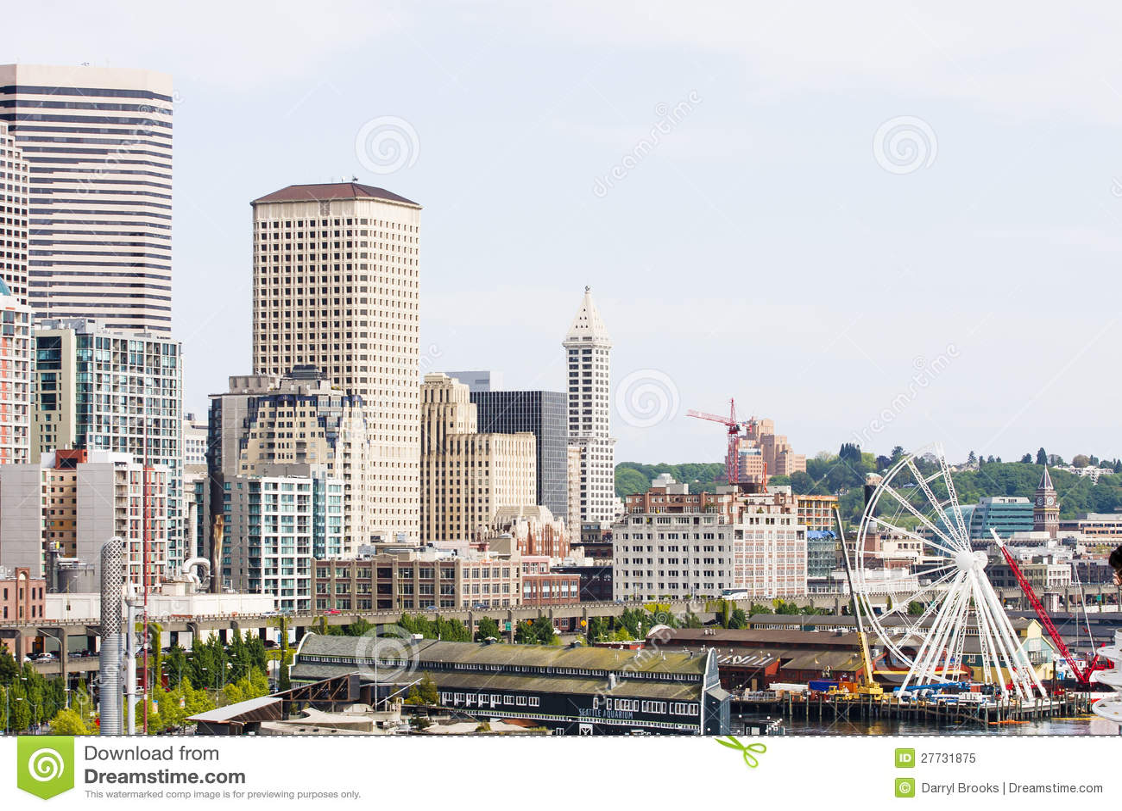 Seattle durch die Küste