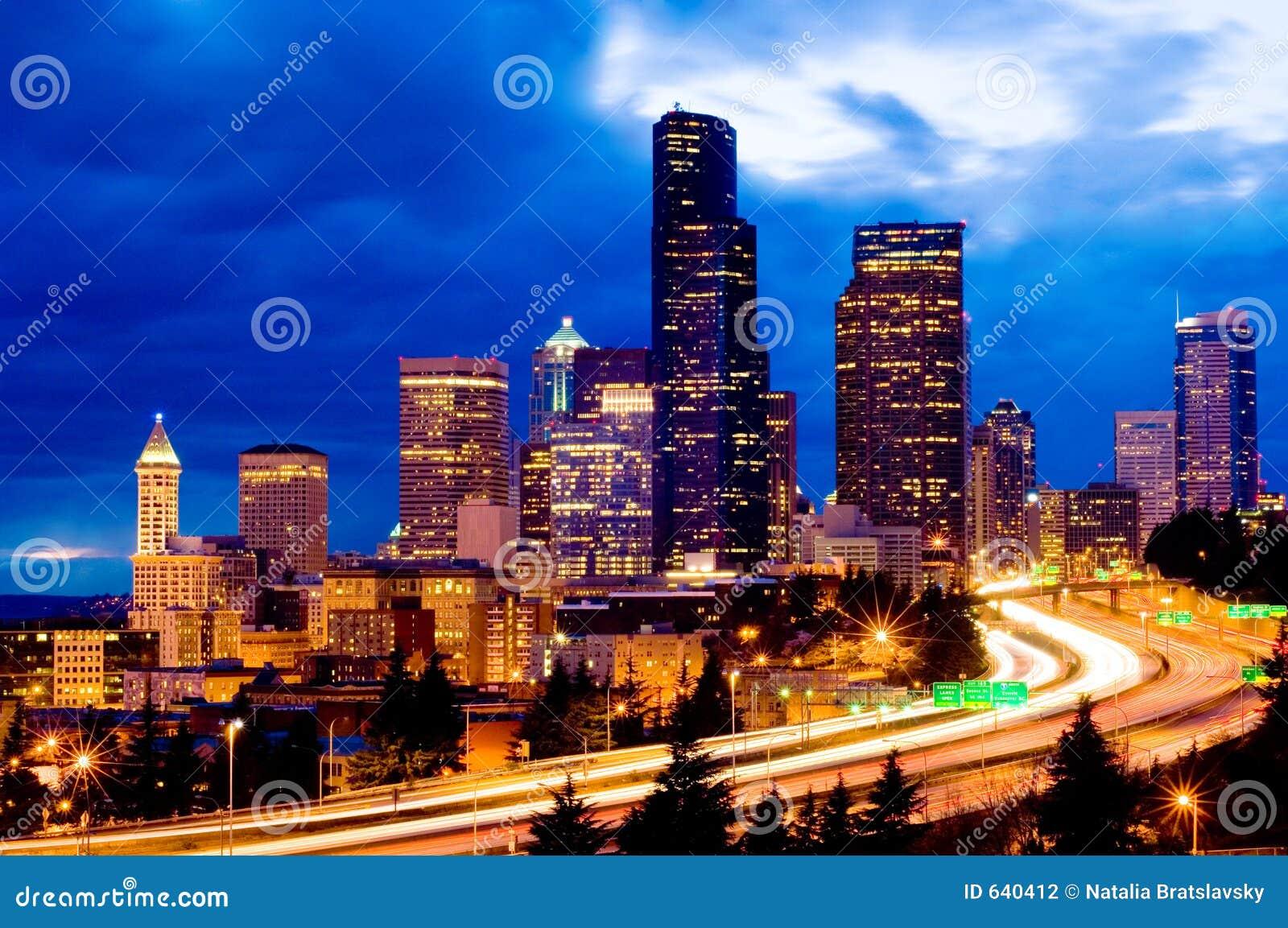 Seattle la nuit