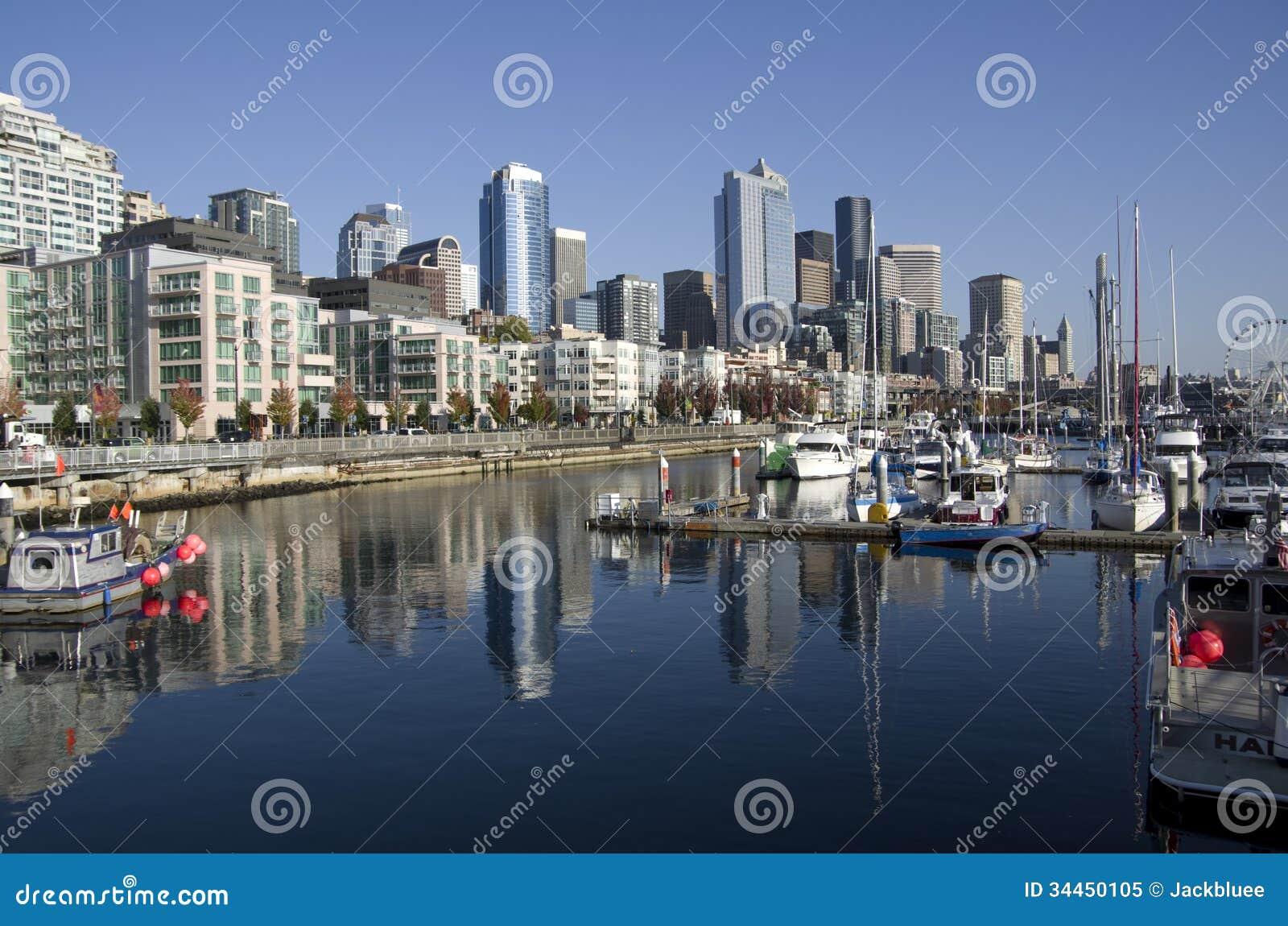 Seattle nabrzeże