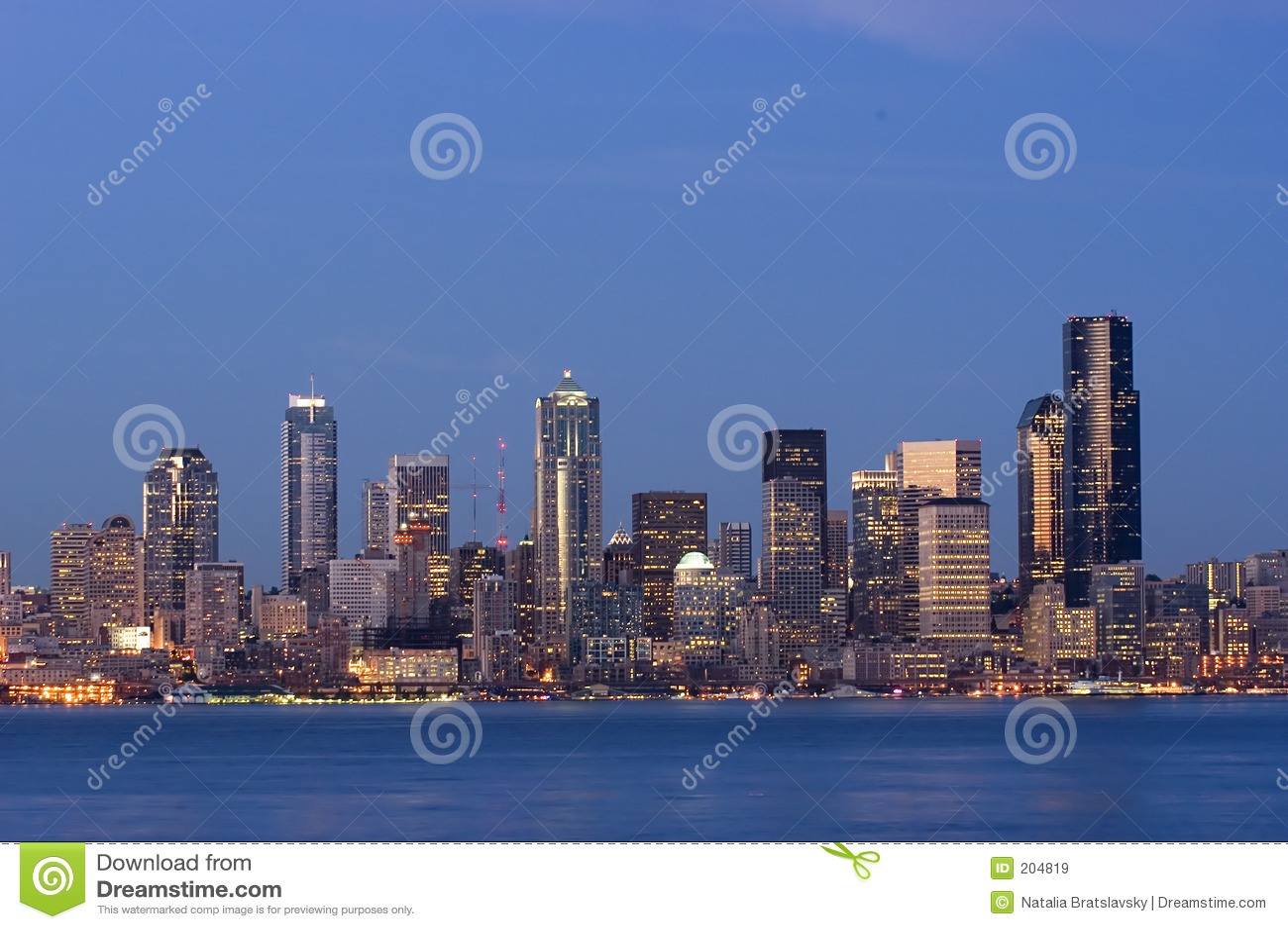 Seattle a penombra