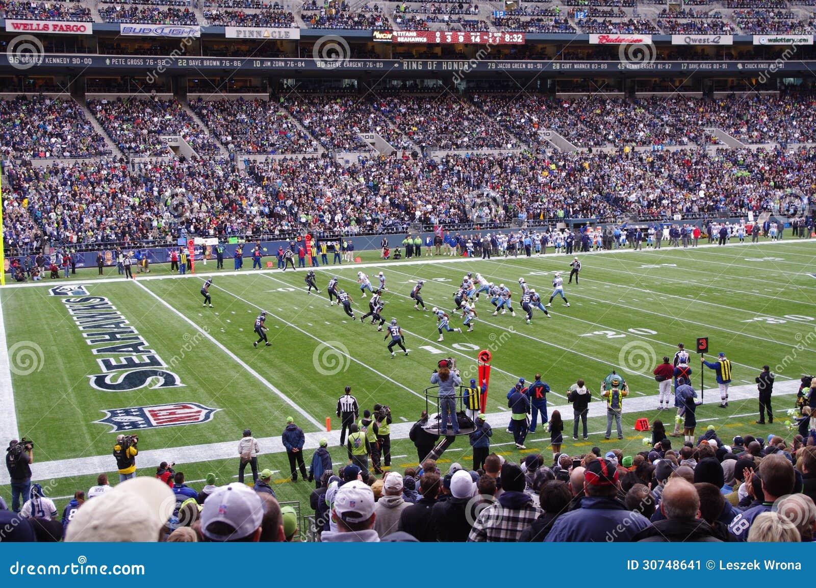 Seattle Seahawks gra