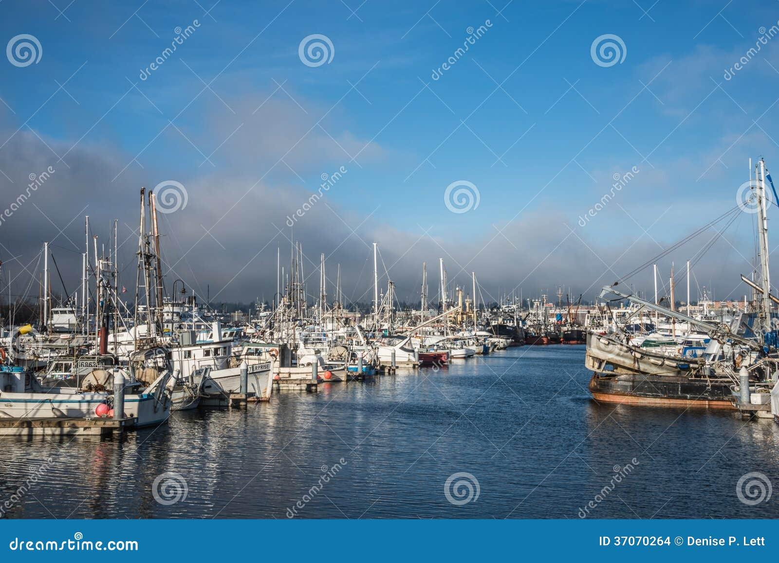 Seattle terminale dei pescatori dei pescherecci
