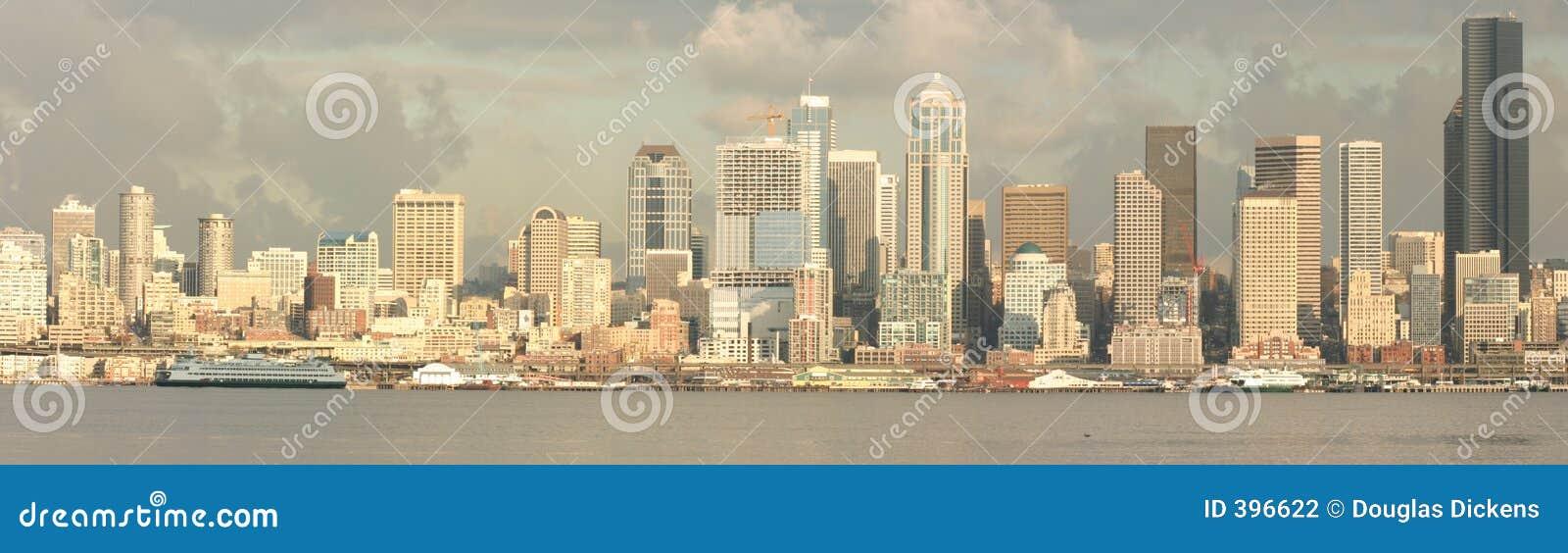 Seattle-Ufergegend