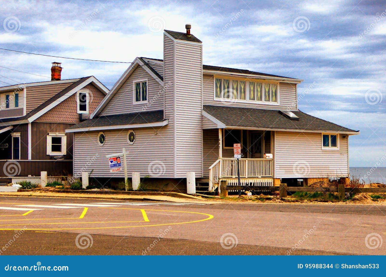 Seaview-Häuser nahe Charles Island Milford Connecticut