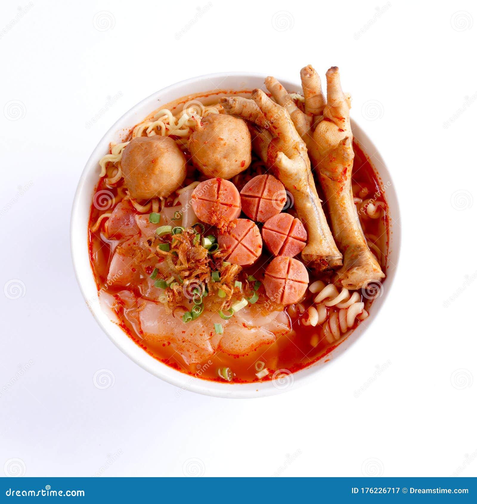 Seblak Jeletot Indonesia Traditional Food Stock Image Image Of Background Meal 176226717