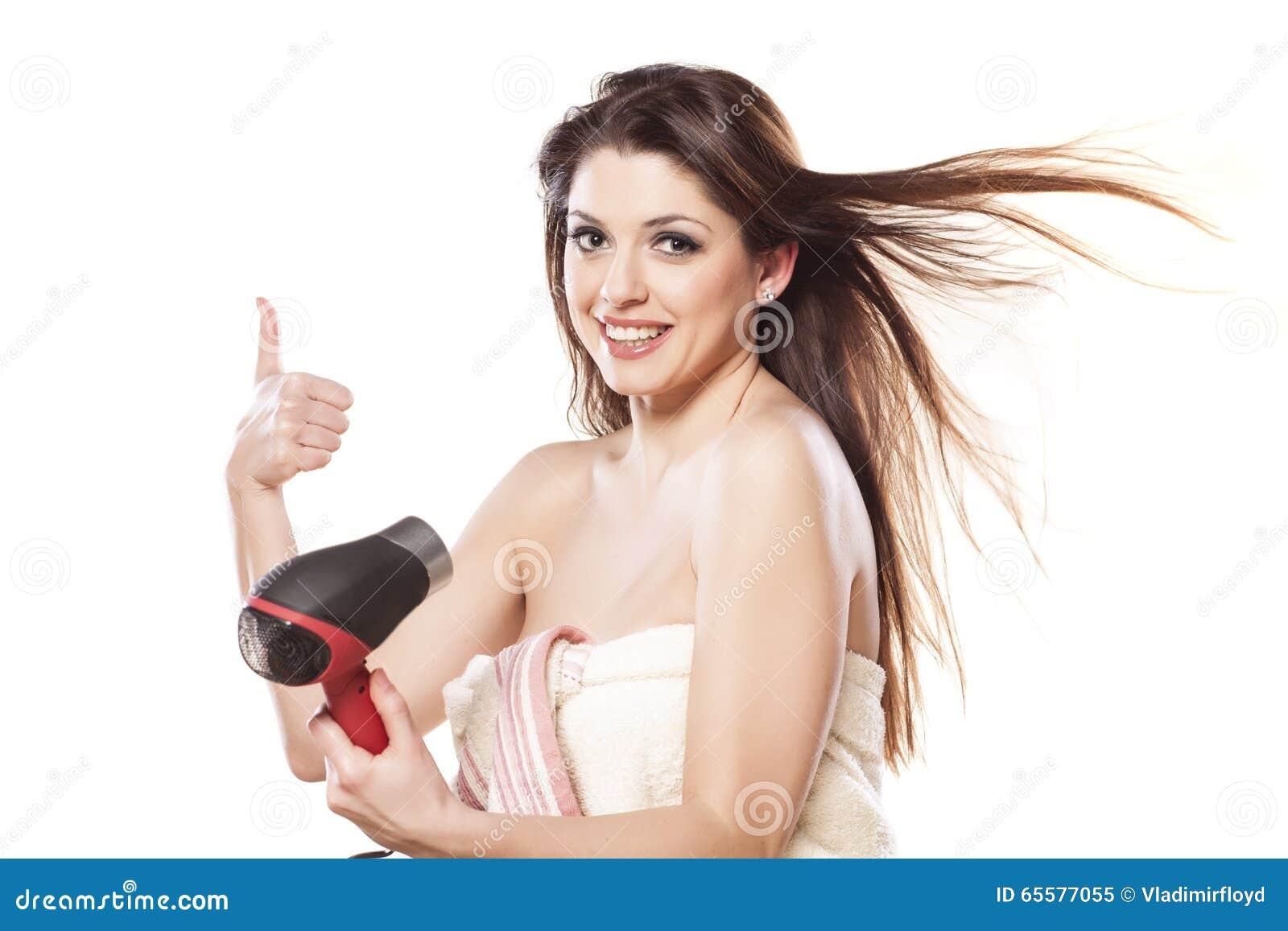 Secagem do cabelo