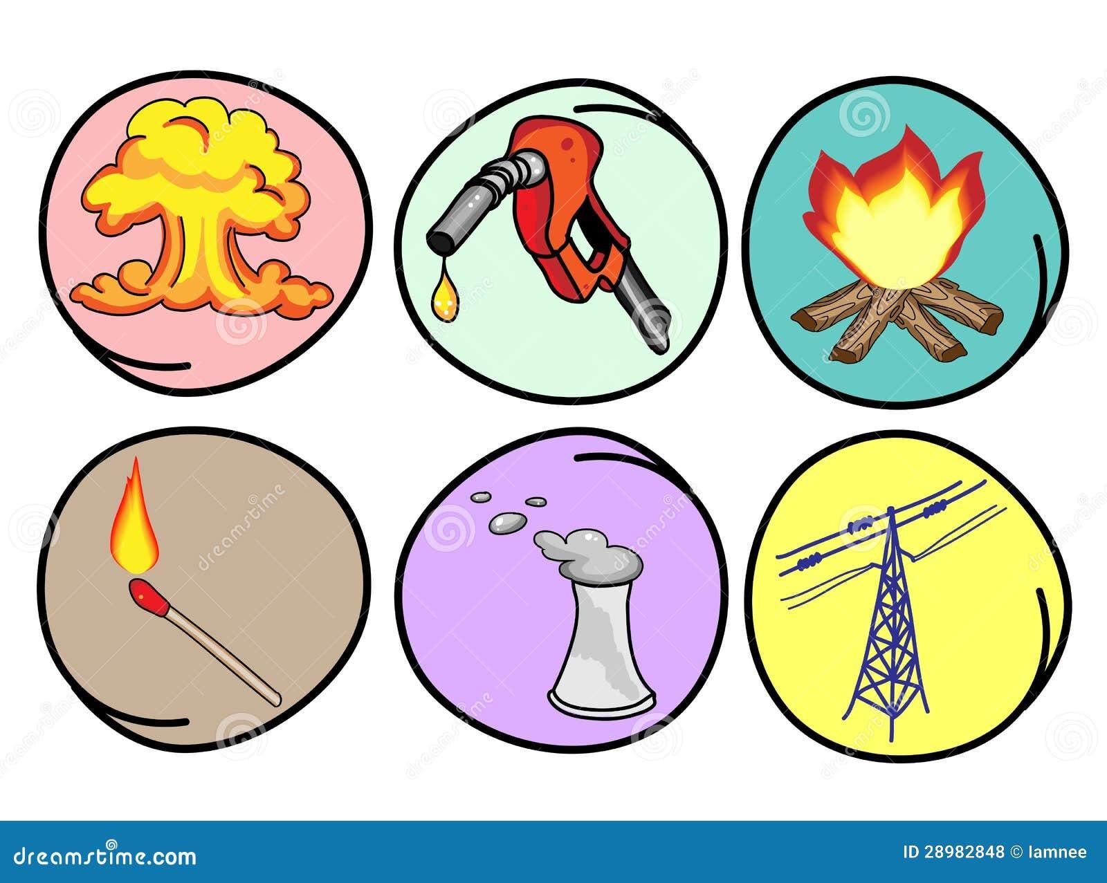 Sechs Formulare Energie Auf Rundem Hintergrund Vektor Abbildung Illustration Von Benzin Wasserstoff 28982848