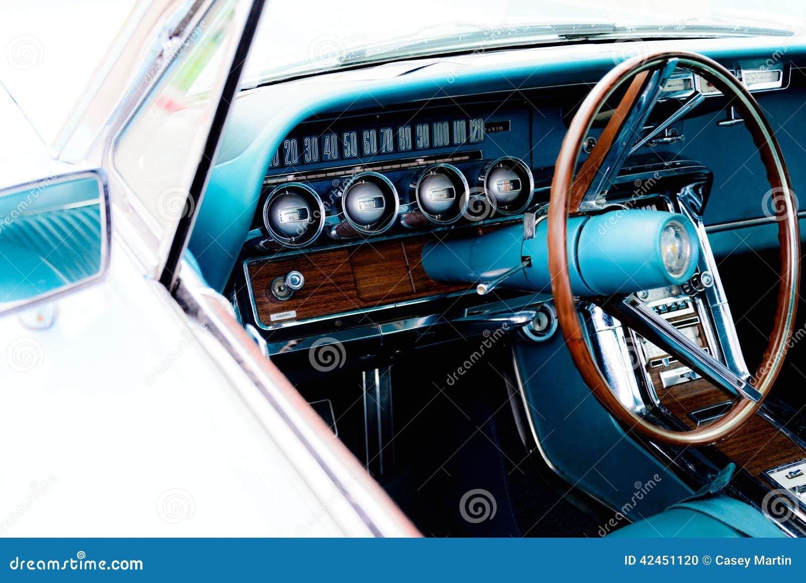 Sechziger Jahre Ford Thunderbird-Schlag