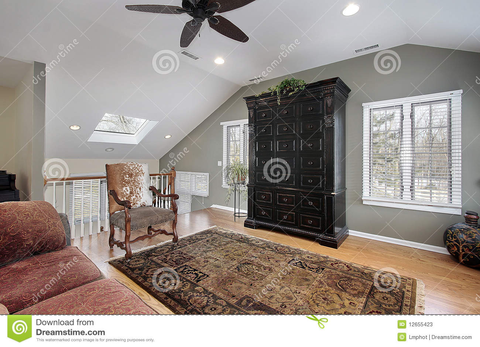 Second Floor Family Room Stock Photos Image 12655423