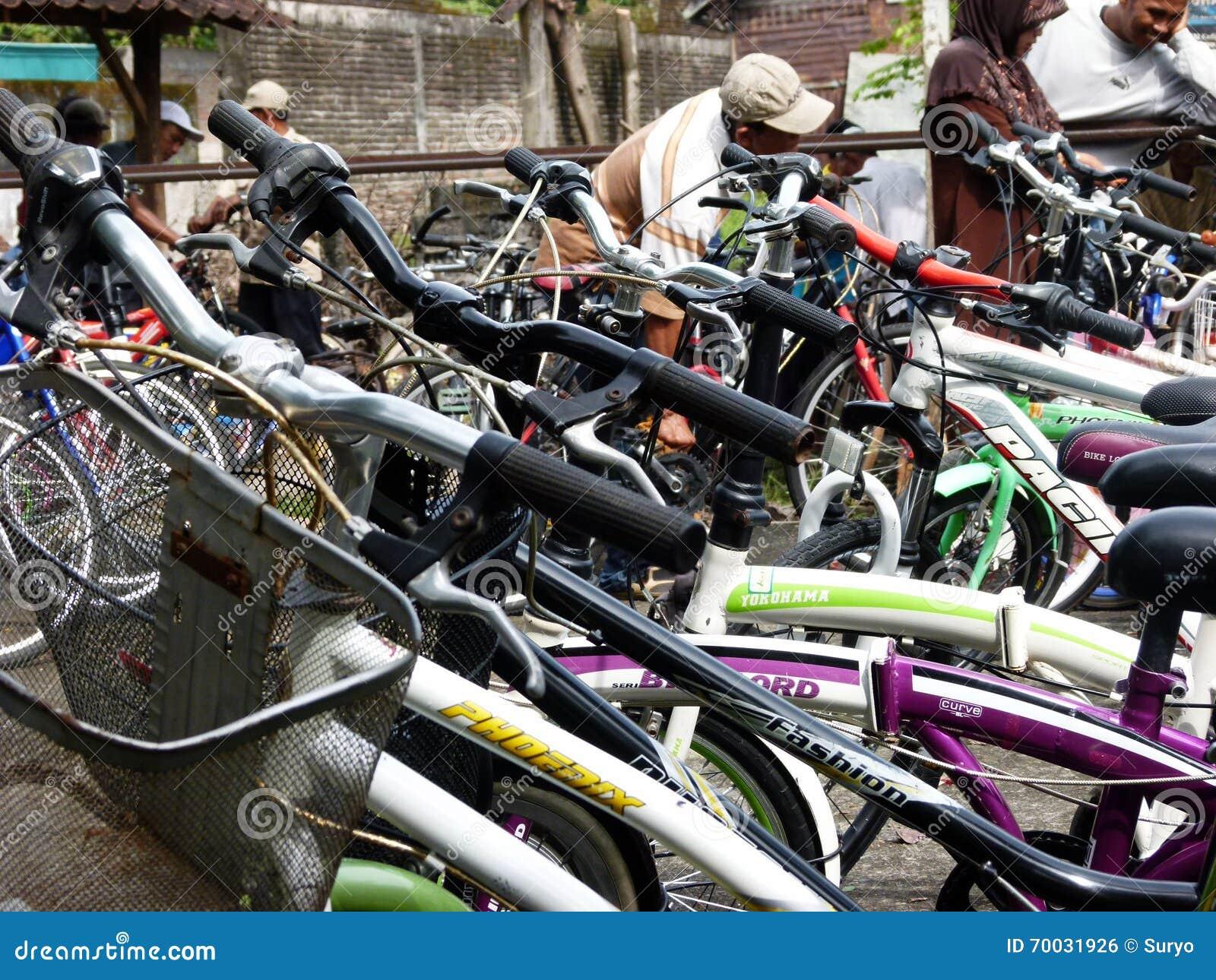 Second hand bikes editorial photo  Image of java, bikes