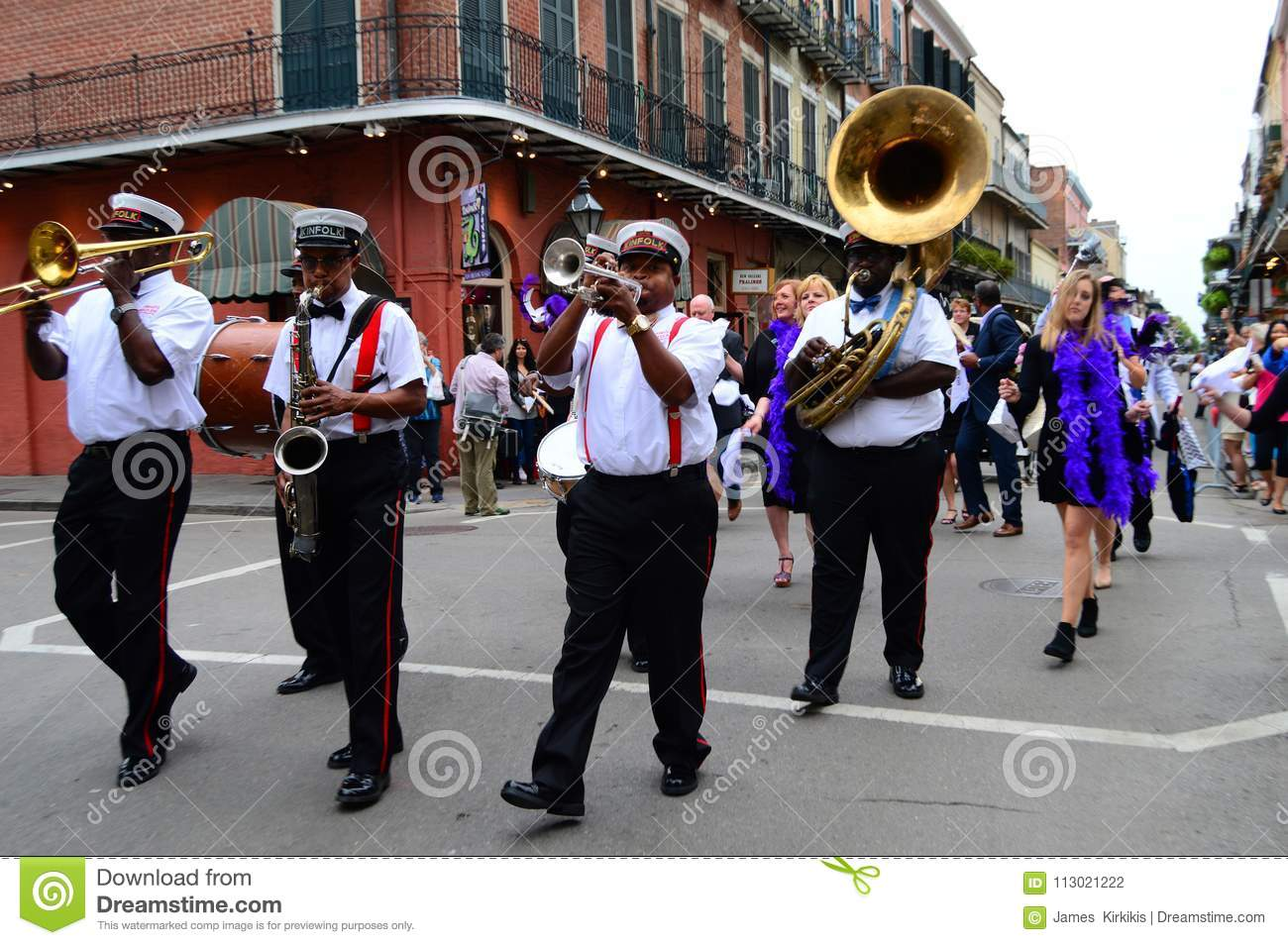 Second Line March