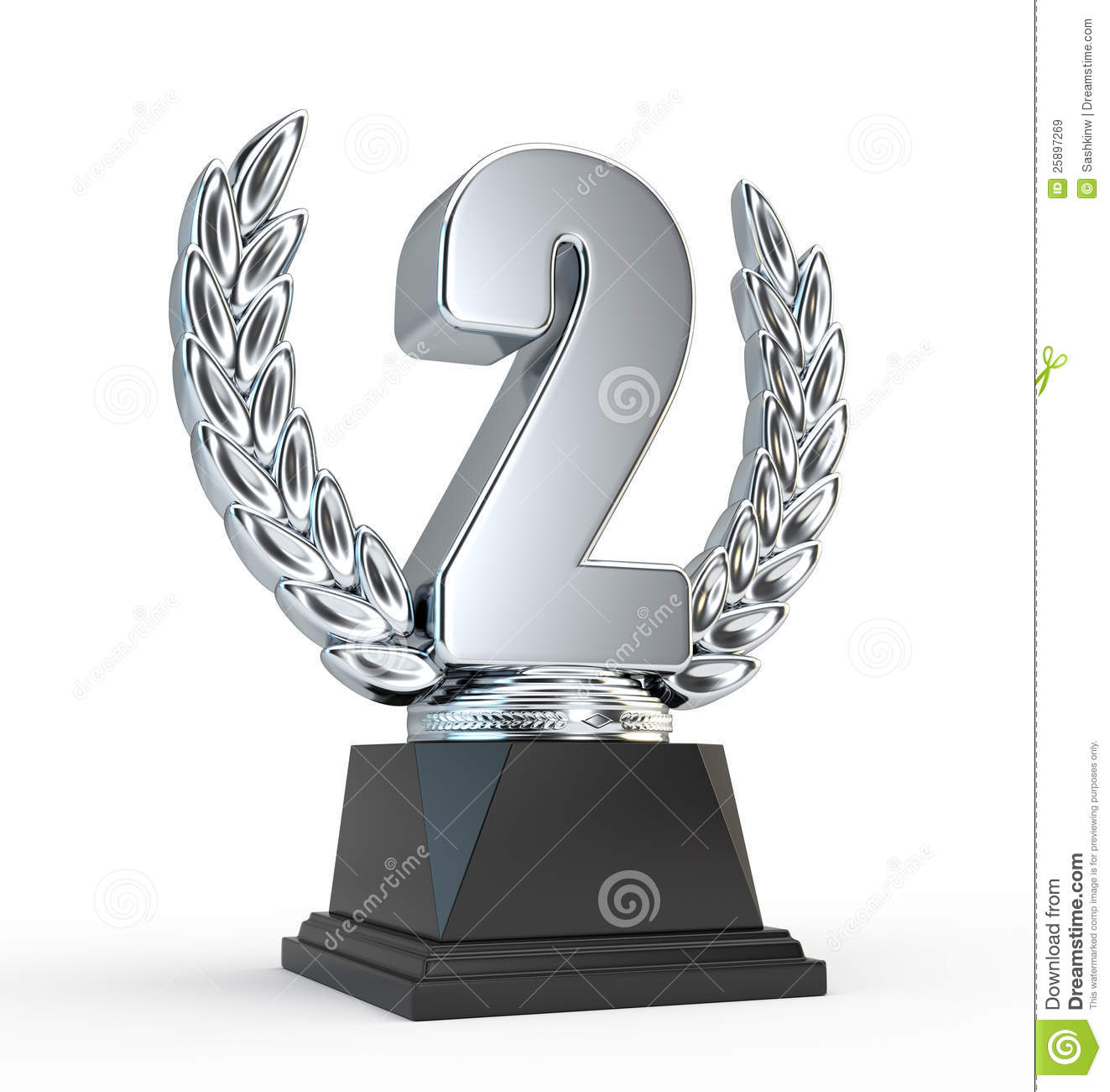 2nd place stock vector illustration royalty free 2nd place clipart - Second Place Trophy Cup Royalty Free Stock Images Image