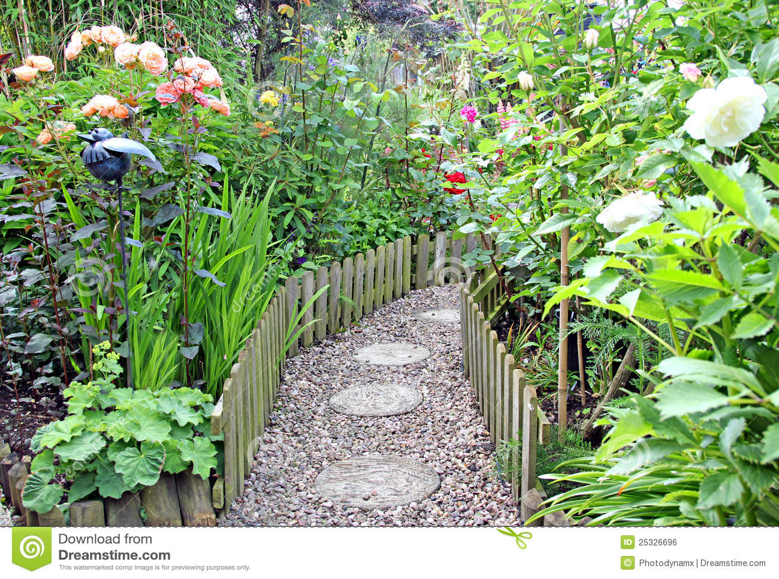 Genial Secret Garden Path