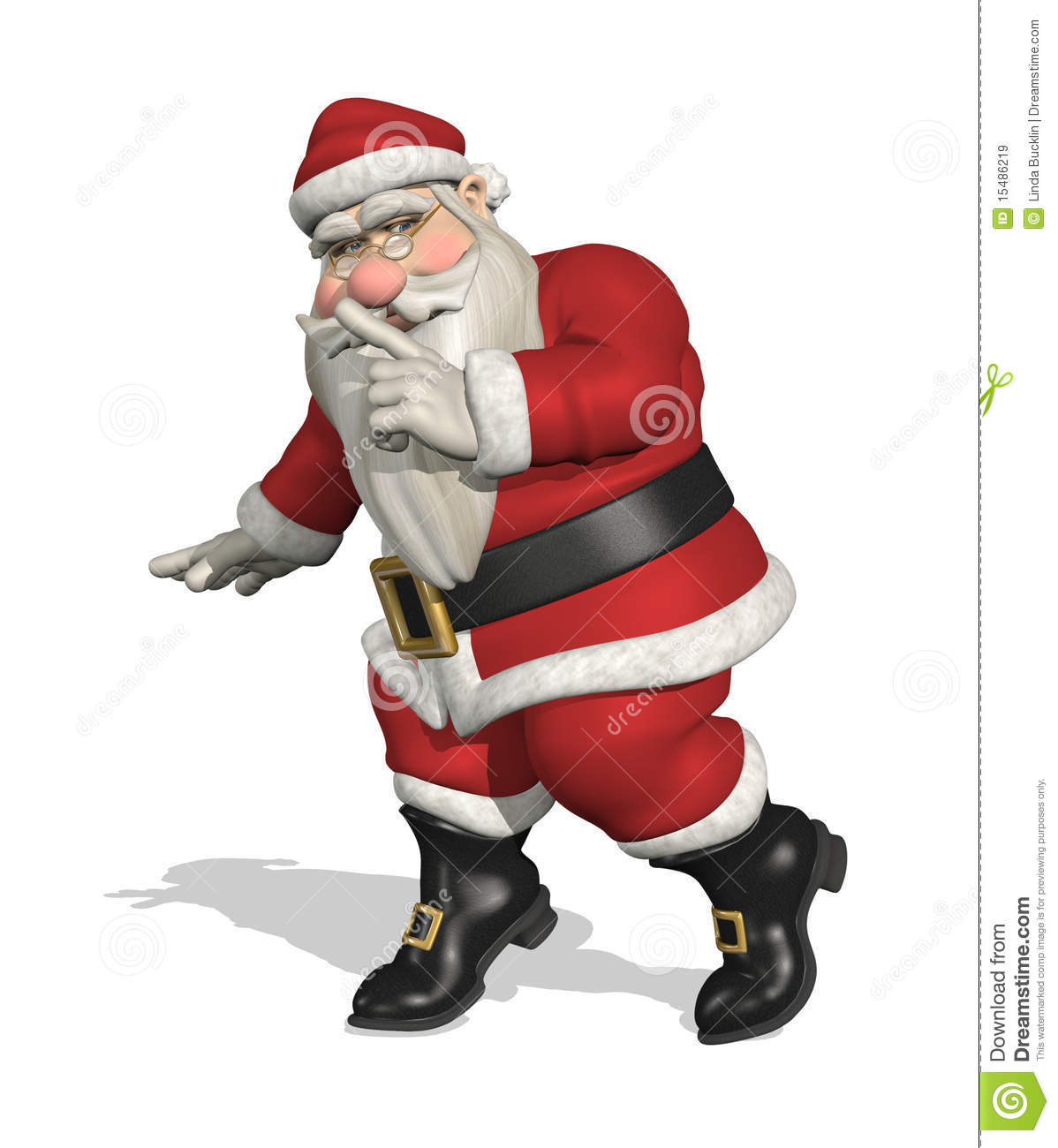 Secret santa royalty free stock images image 15486219