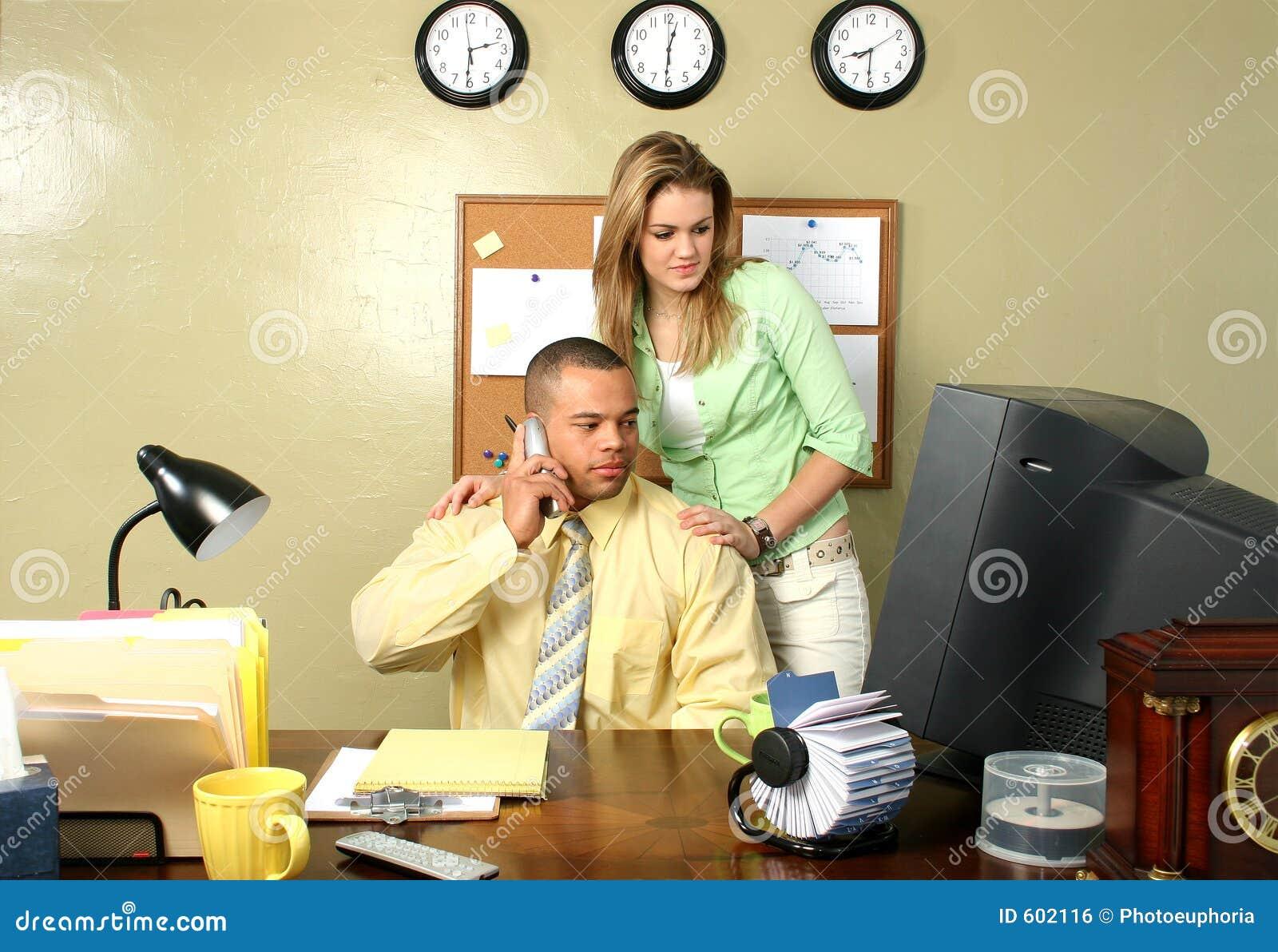 Secretaresse en BedrijfsMens