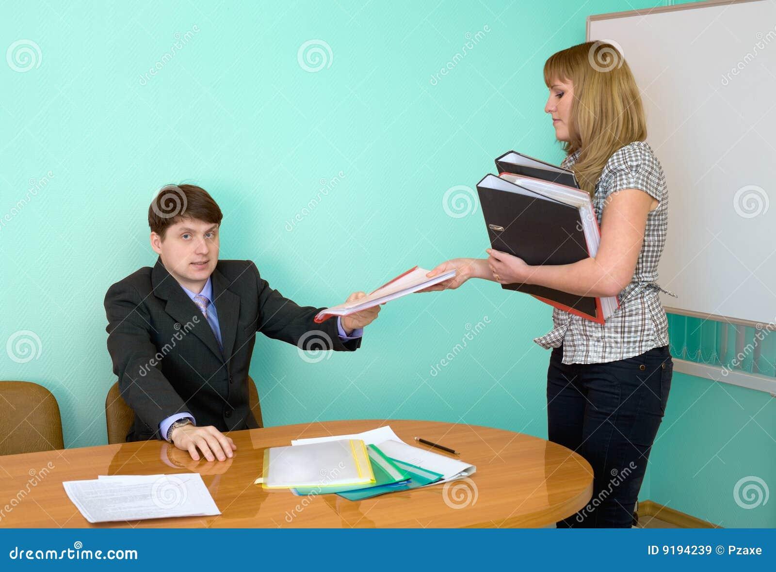 Секретарша с начальникам 18 фотография