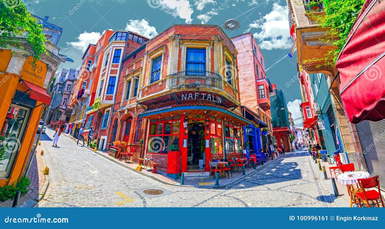 Secteur de Balat, Istanbul, Turquie