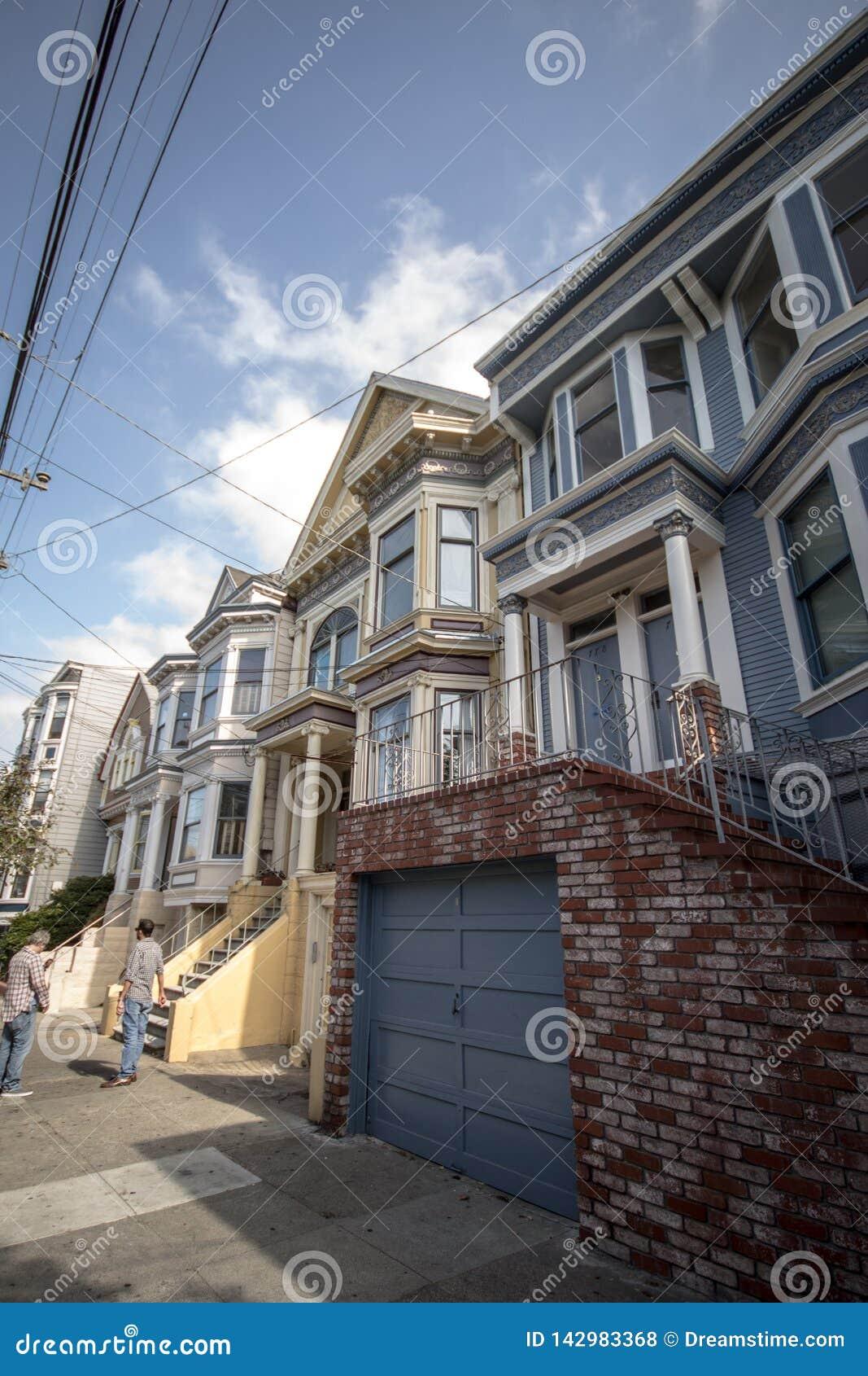 Secteur de Castro de maison de San Francisco