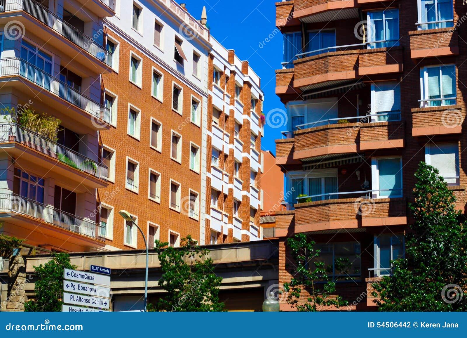 Secteur résidentiel de Barcelone