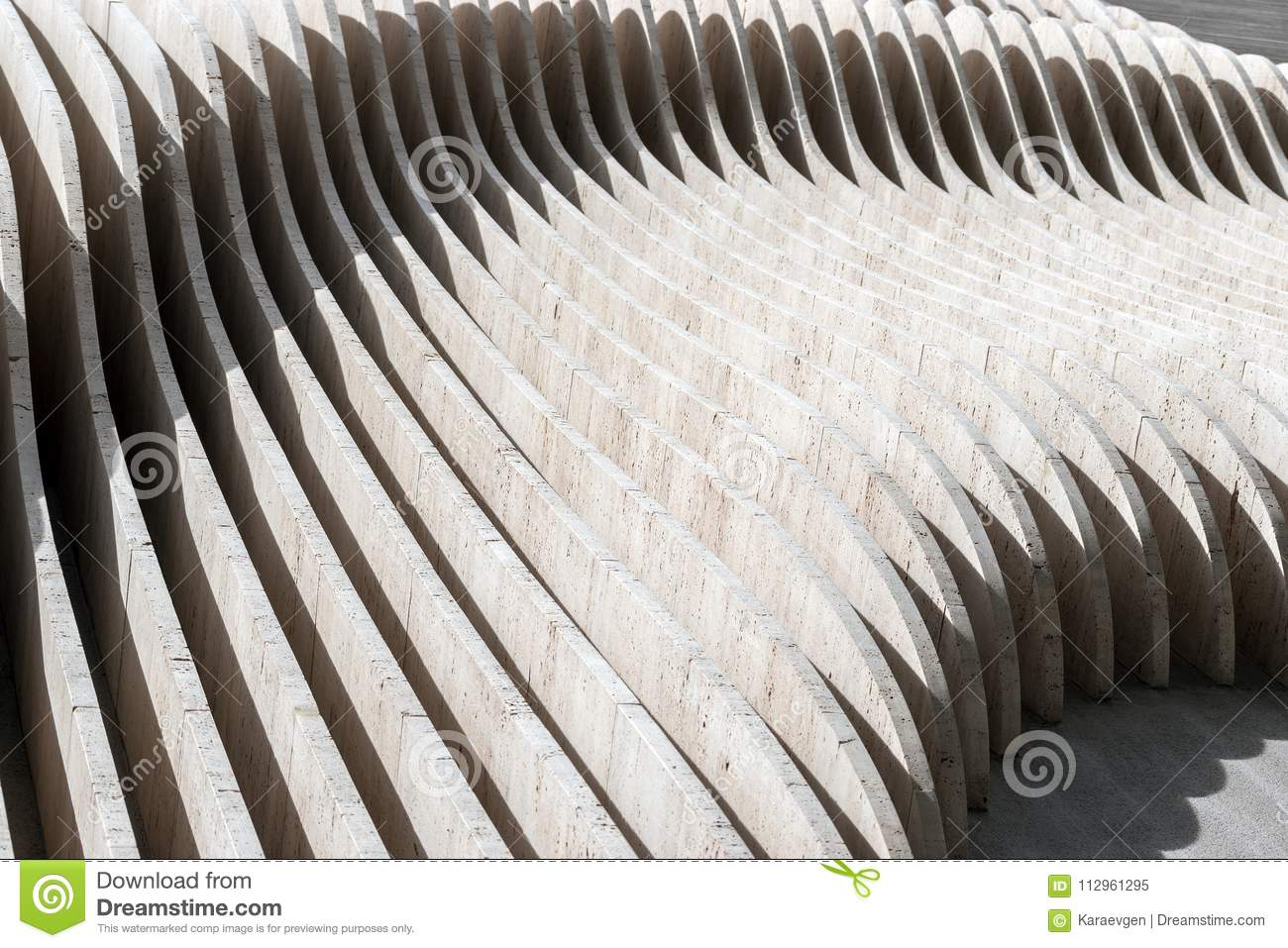 Sections Of The Concrete Wall Stock Image Image Of Outdoor