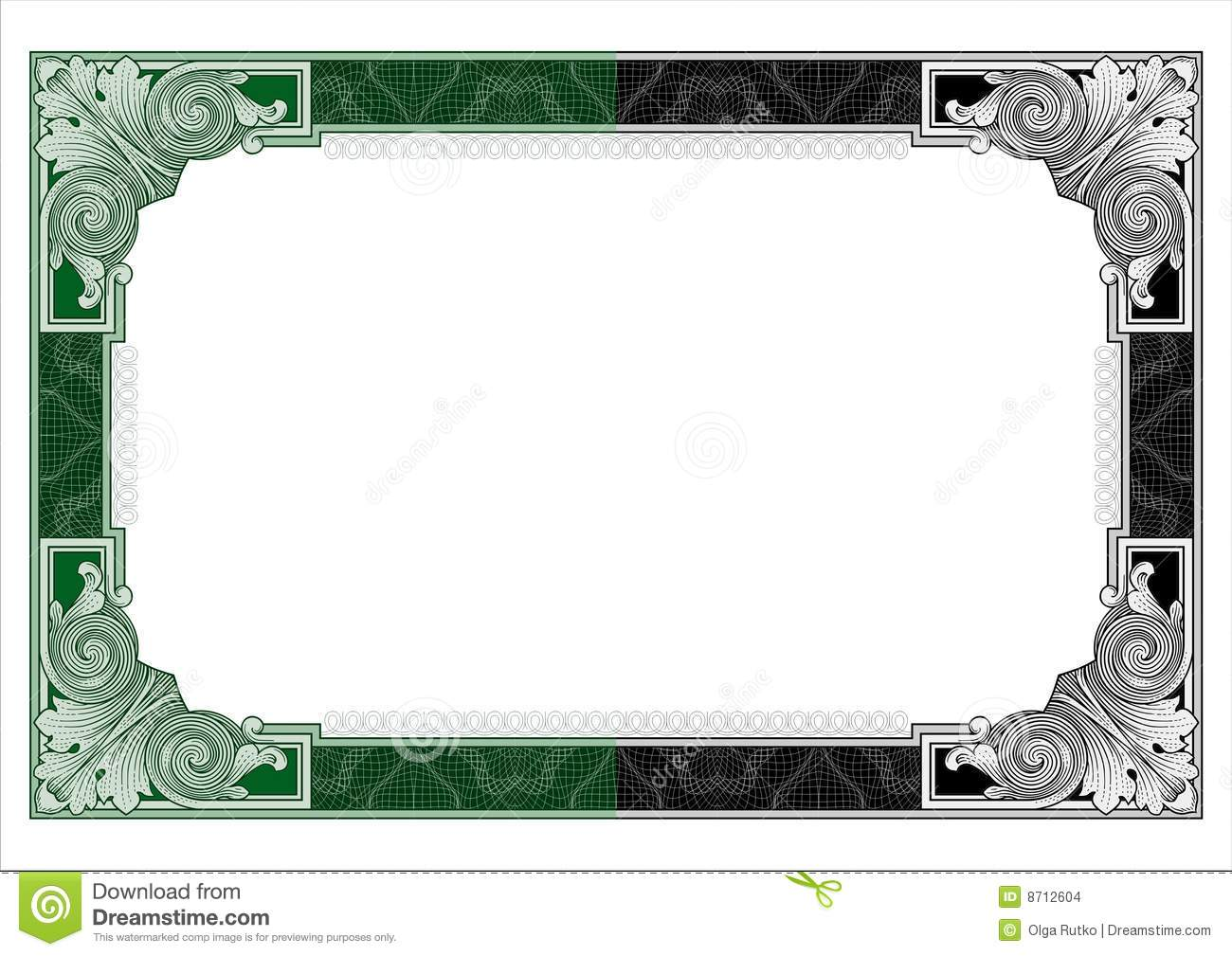 Secure Design Frame Vector 1 Stock Vector Illustration Of Award