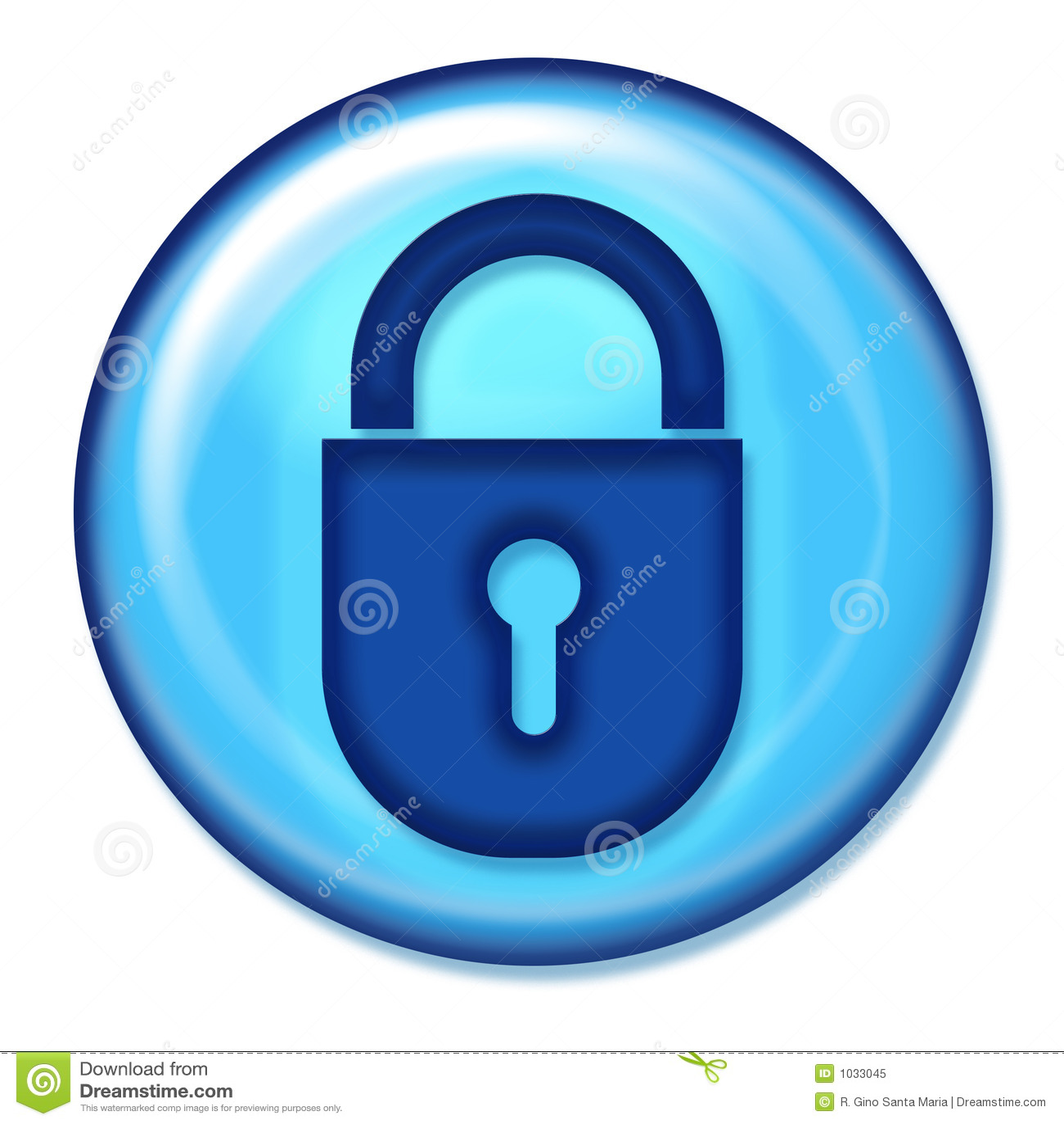 Secure Web Button