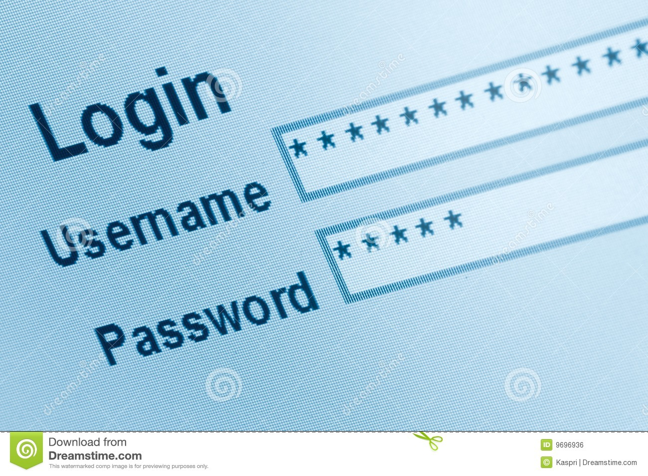 Login website screen stock images image 27209274 -  Screen Stock Secure Website Login Interface