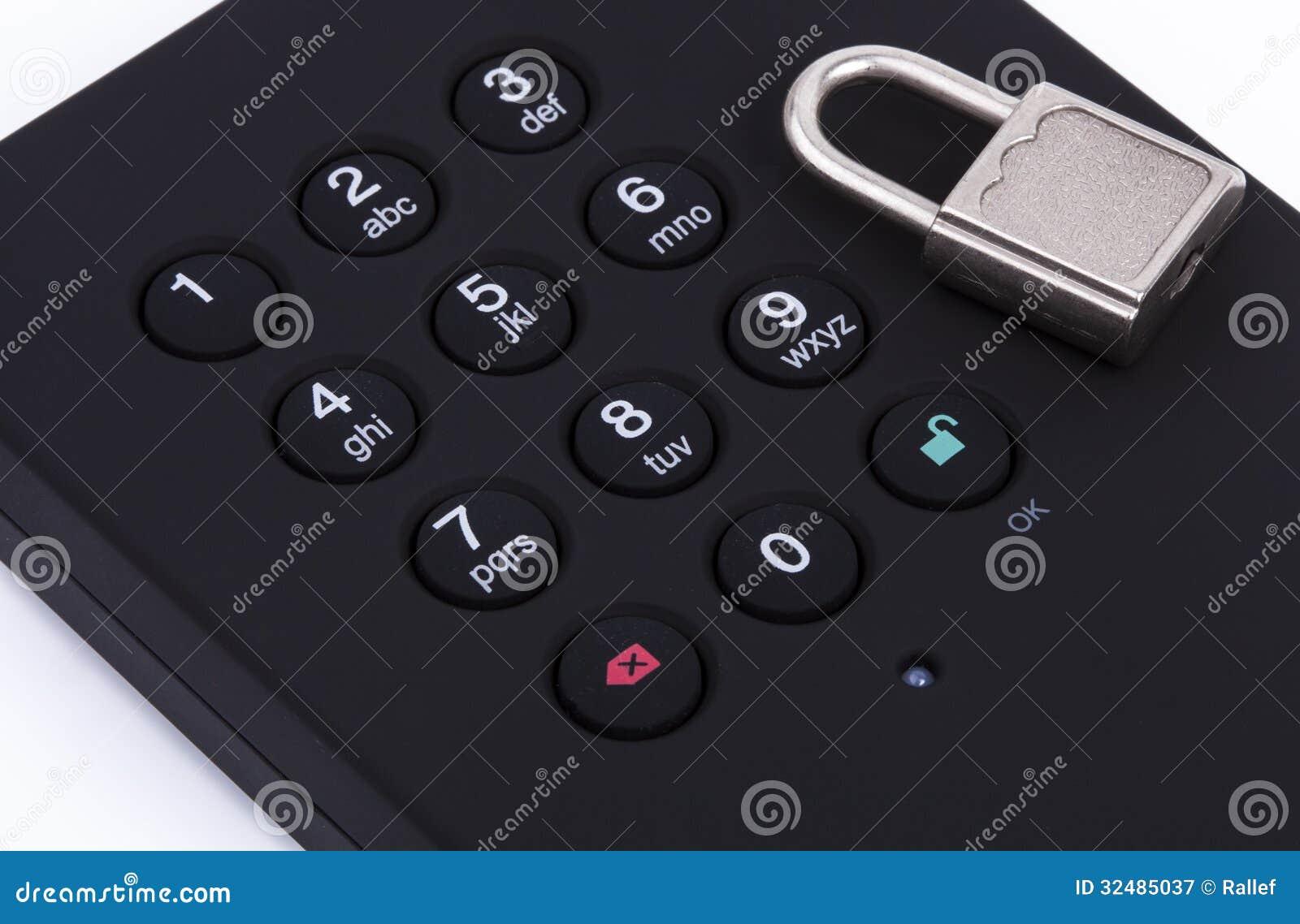 Secured Harddrive