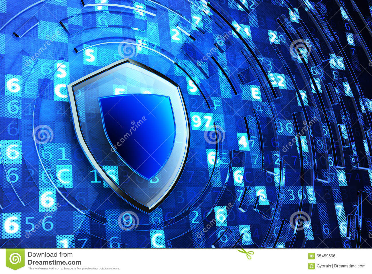 Securing, Network Firewall, Computer Data Protection And Information Security Concept Stock ...