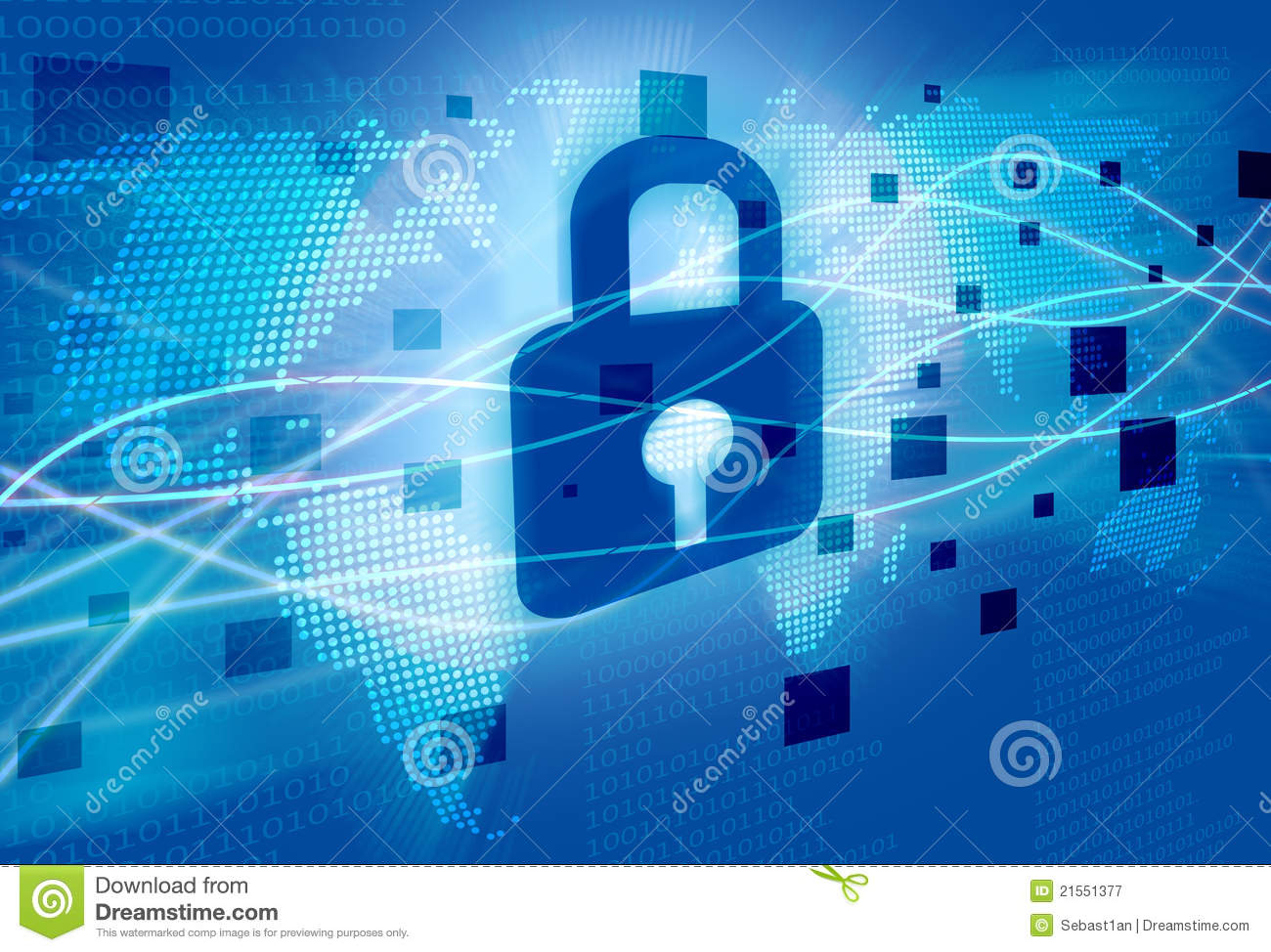 Website Protection – Safe & Secure – Image Copyright Free Stock Image Dreamstime.Com