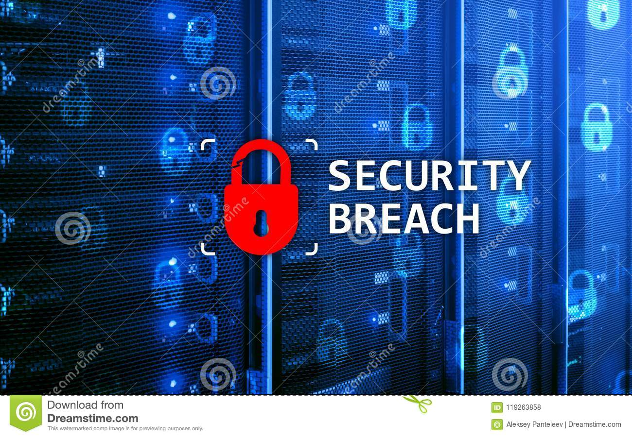 Security breach detection, Cyber protection. Information privacy
