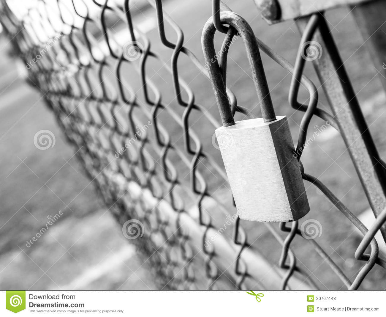 Security breach royalty free stock photos image 30707448 - How to open chain lock ...