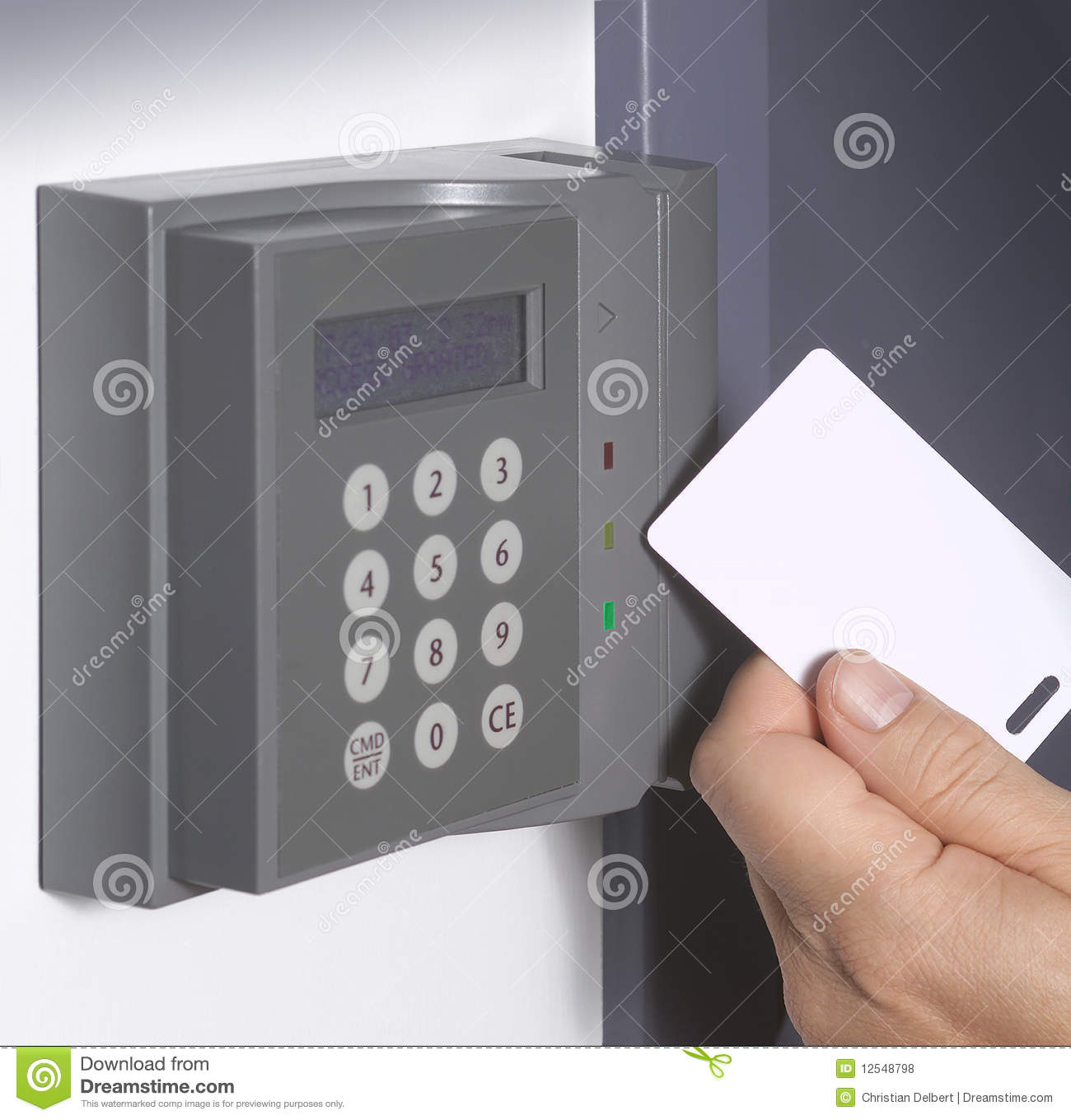 Security Card Entrance Stock Photo Image Of Access