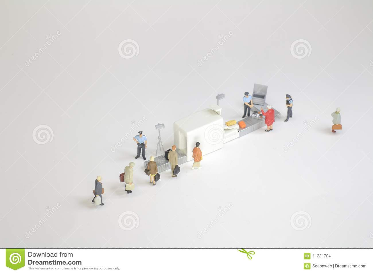 A security check with isometric people in queue stock illustration download a security check with isometric people in queue stock illustration illustration of symbol ccuart Images