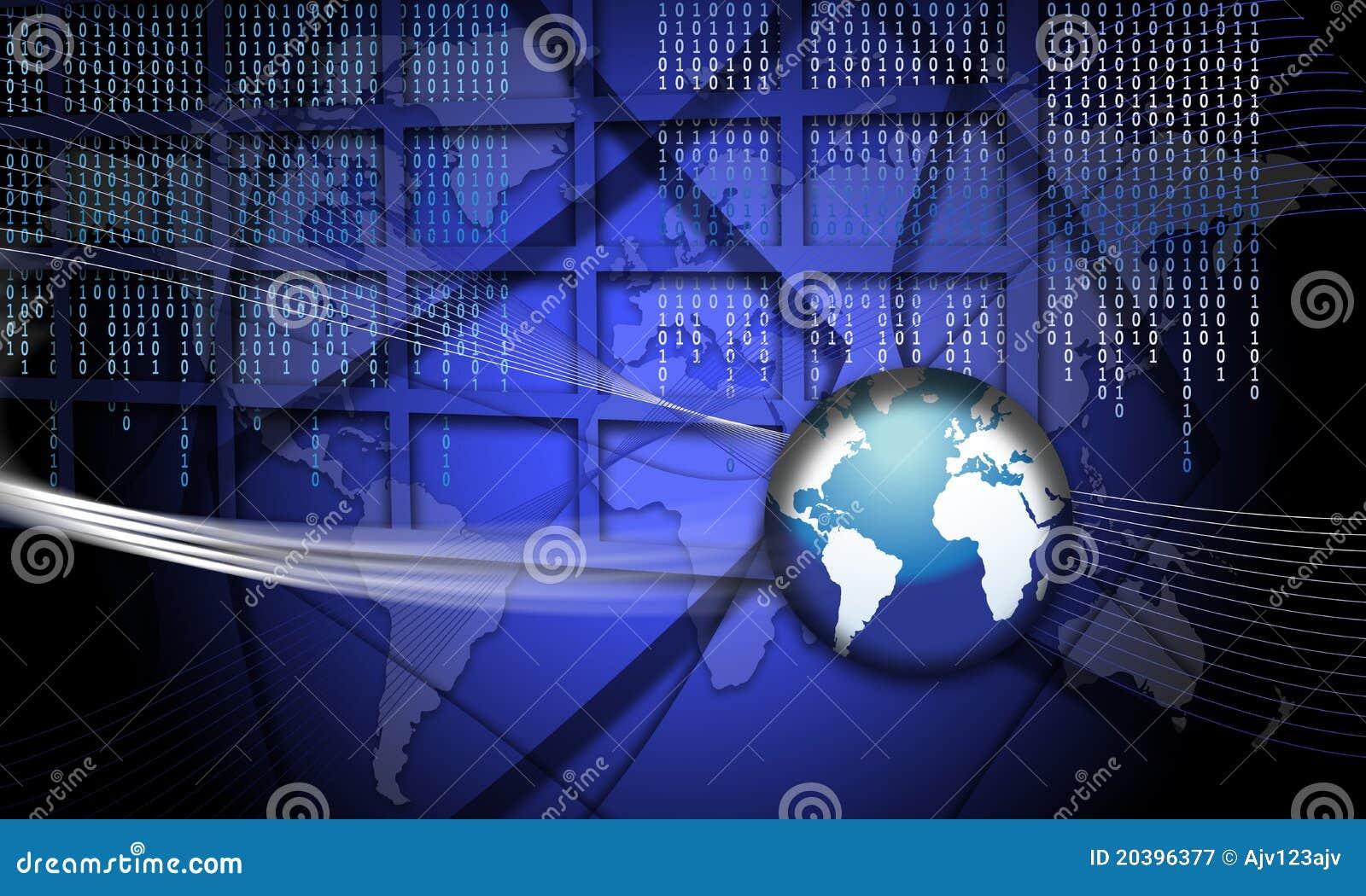 Security Concept Focus World Fraud