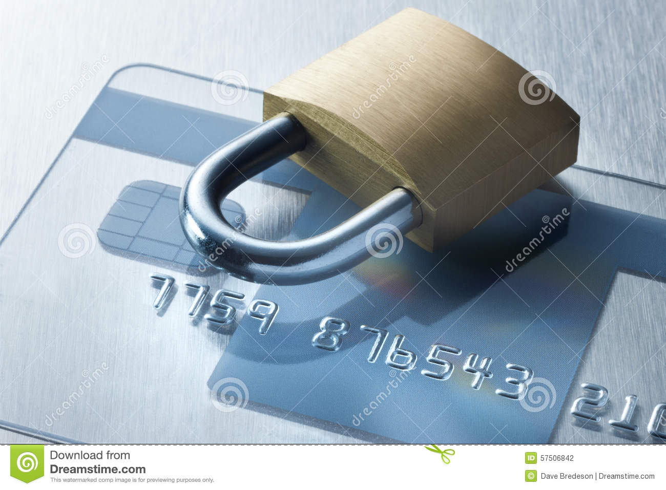 Security Credit Card Technology Lock